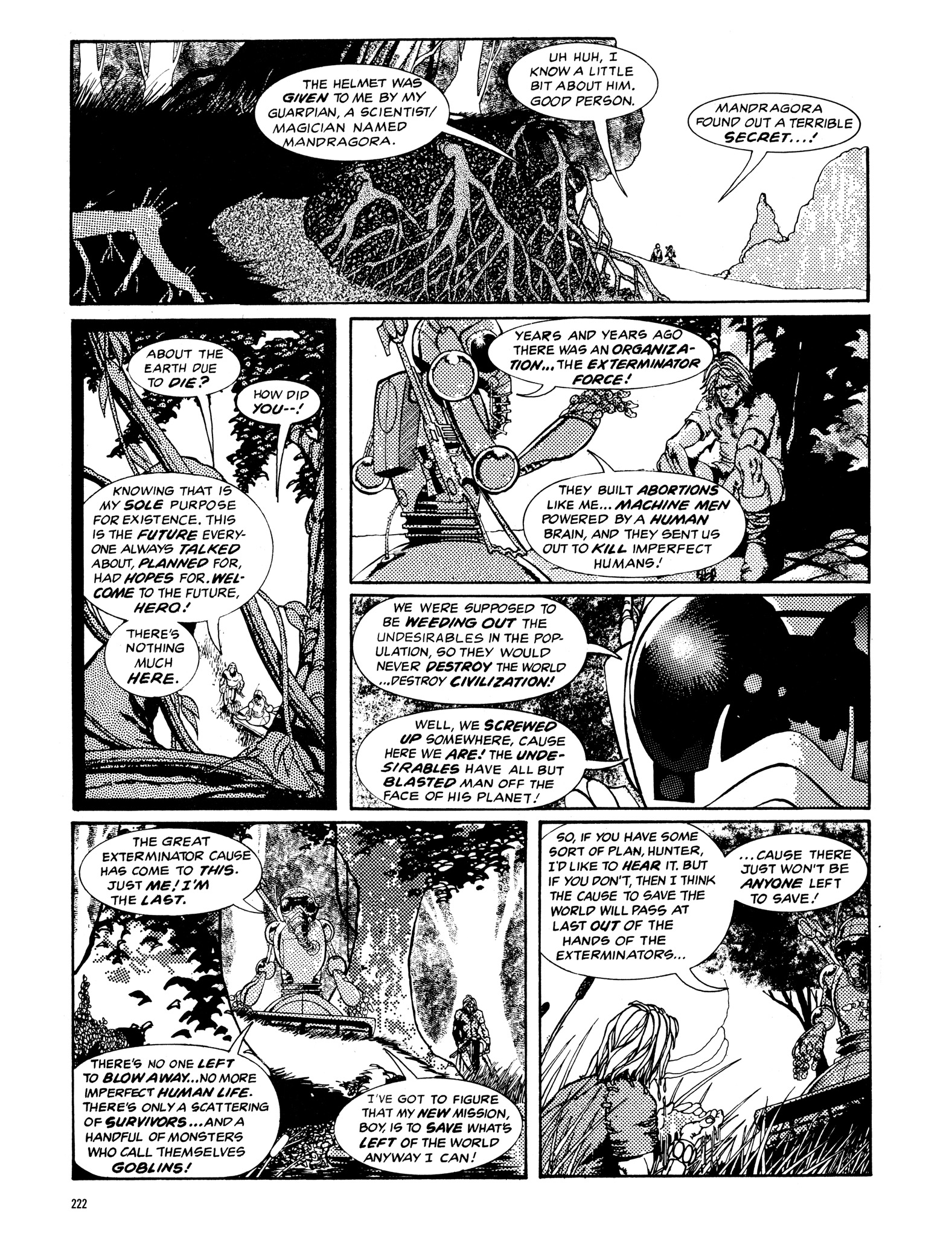 Read online Eerie Archives comic -  Issue # TPB 14 - 223