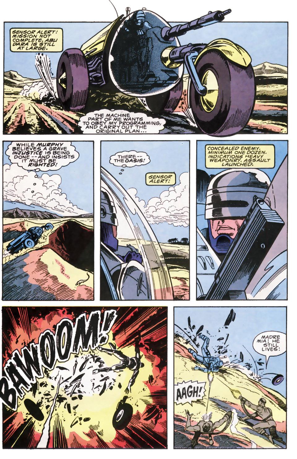 Read online Robocop (1990) comic -  Issue #6 - 12