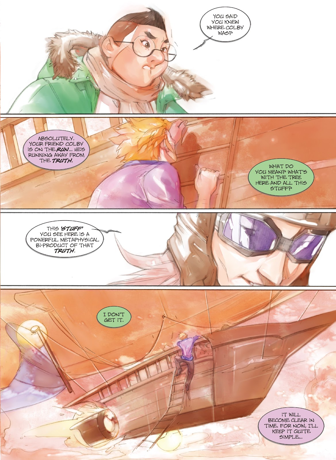 Read online Makeshift Miracle: The Girl From Nowhere comic -  Issue #7 - 14