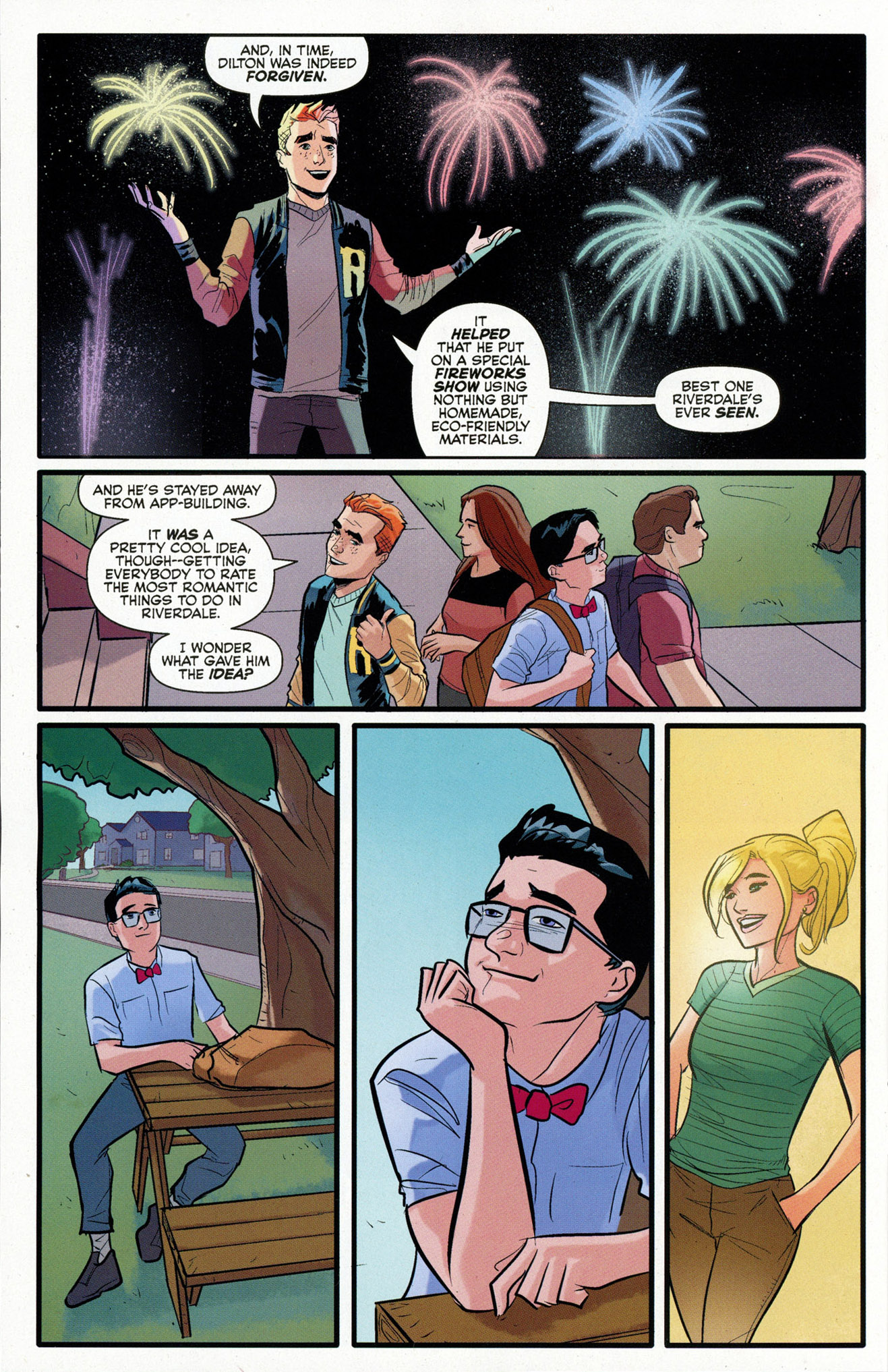 Read online Archie (2015) comic -  Issue #16 - 20