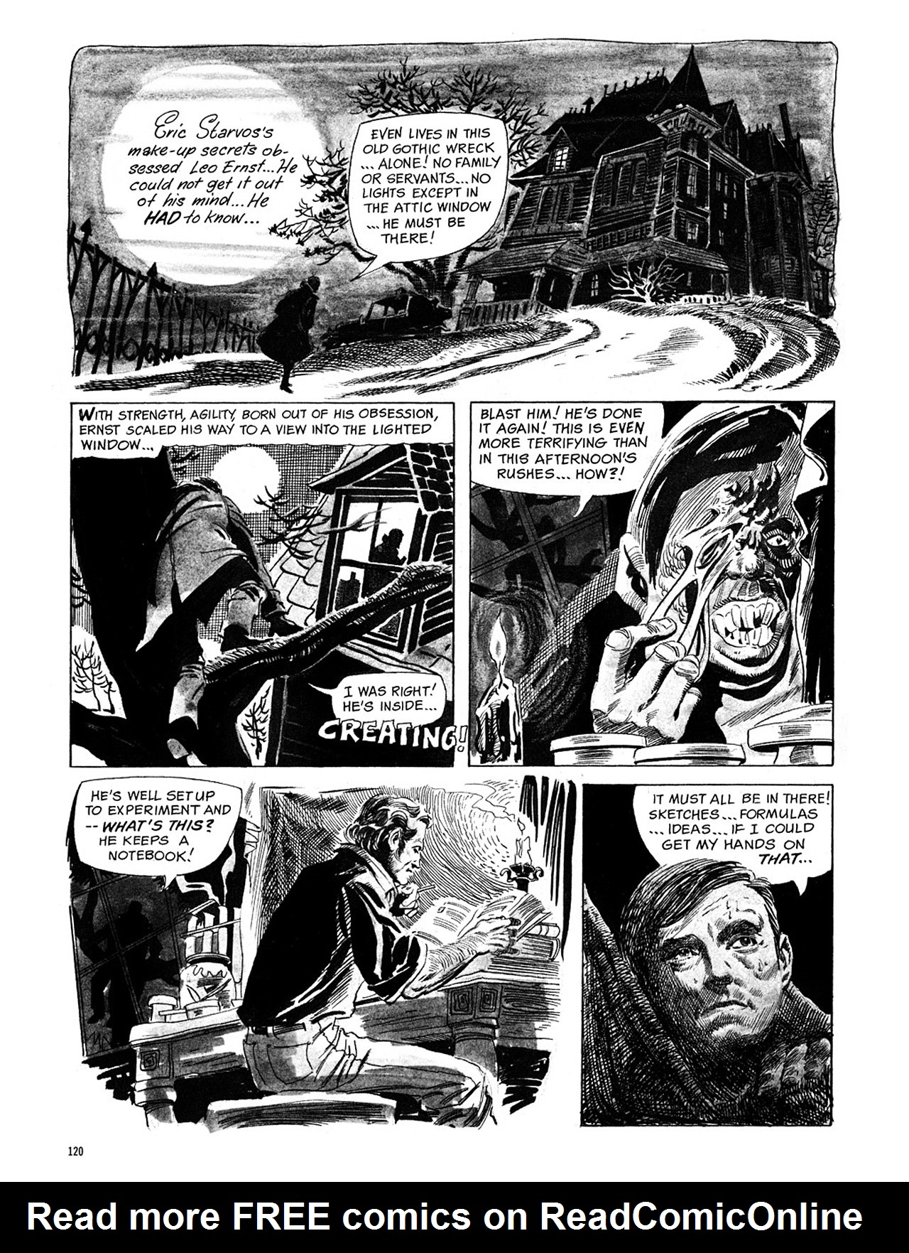 Read online Eerie Archives comic -  Issue # TPB 1 - 121