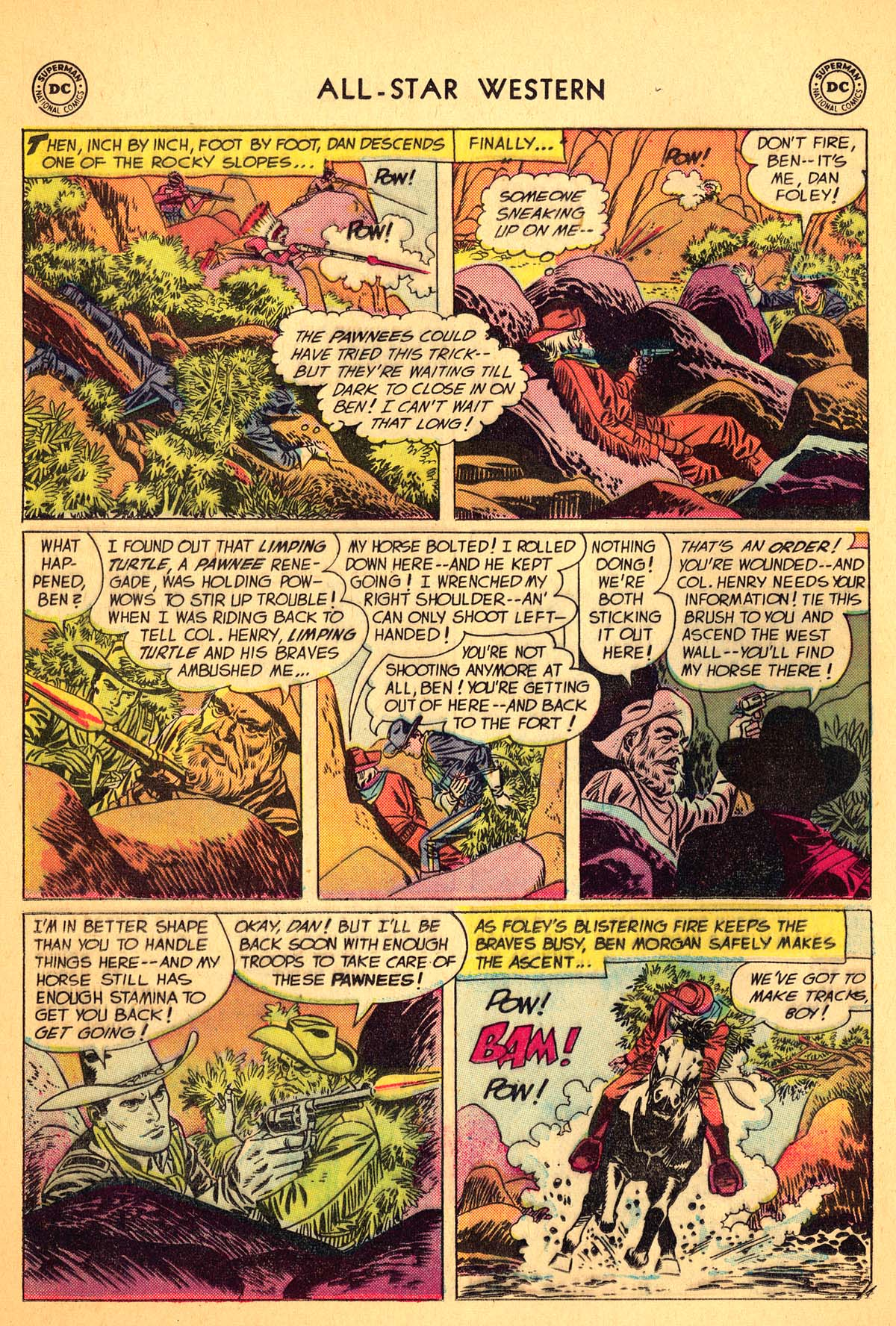 Read online All-Star Western (1951) comic -  Issue #99 - 24