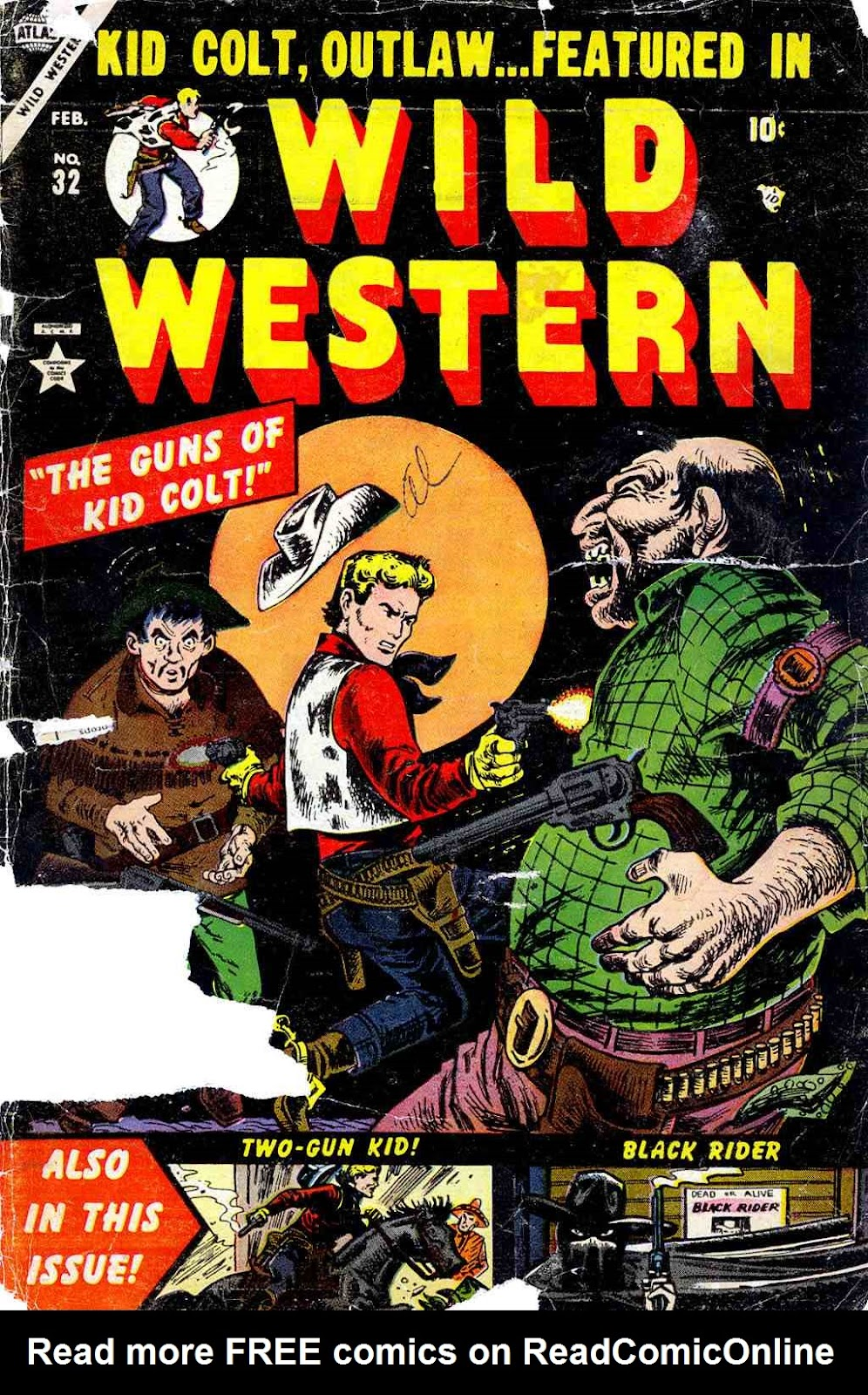 Wild Western 32 Page 1
