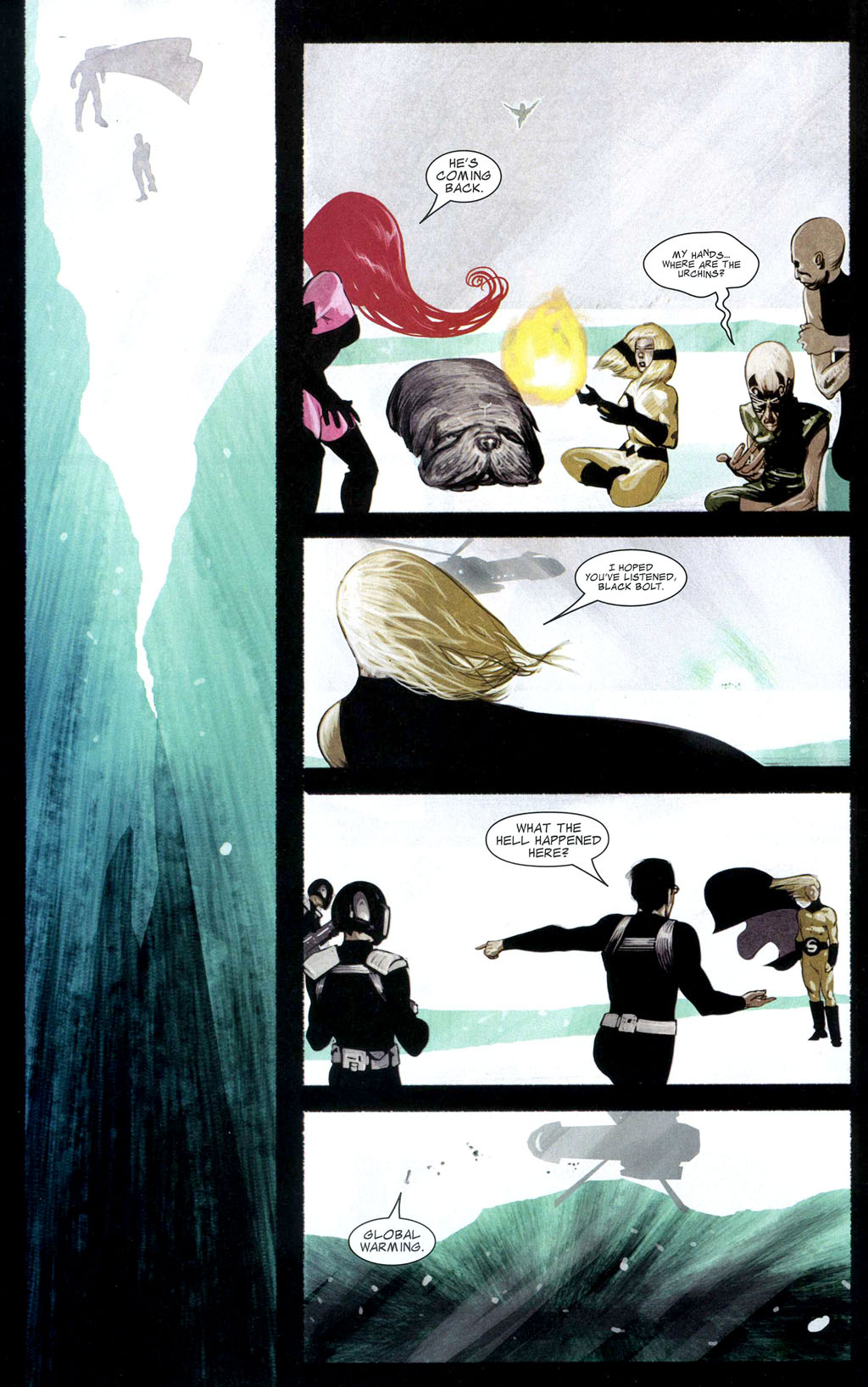 Read online Silent War comic -  Issue #2 - 21