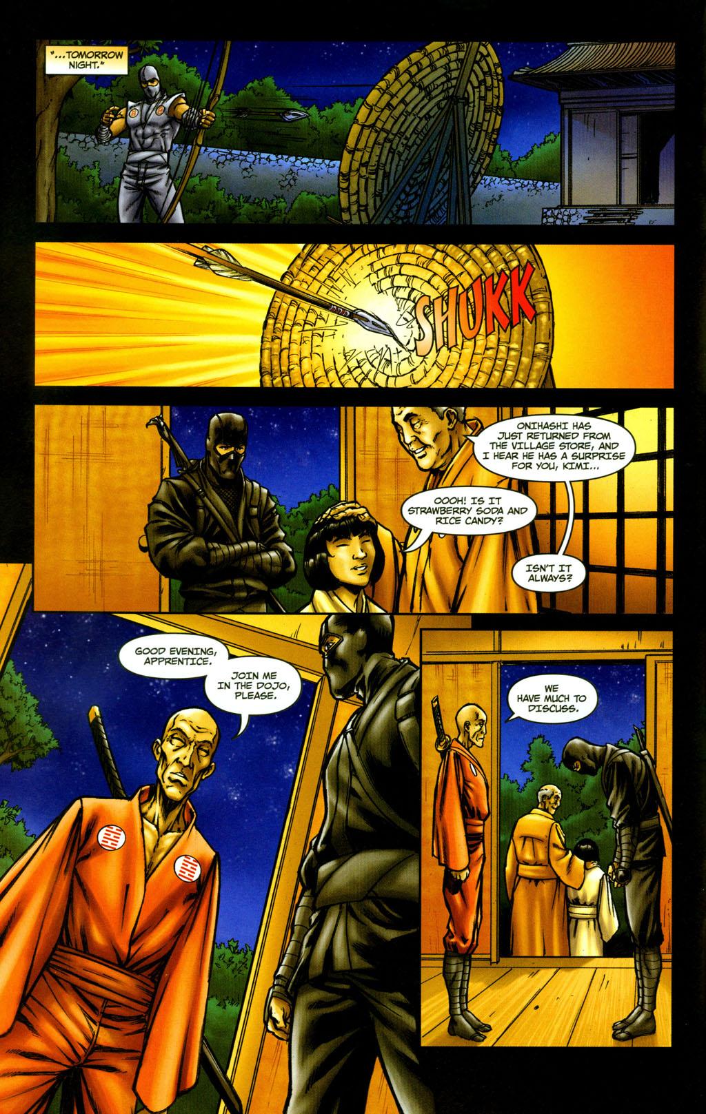 Read online Snake Eyes: Declassified comic -  Issue #5 - 8