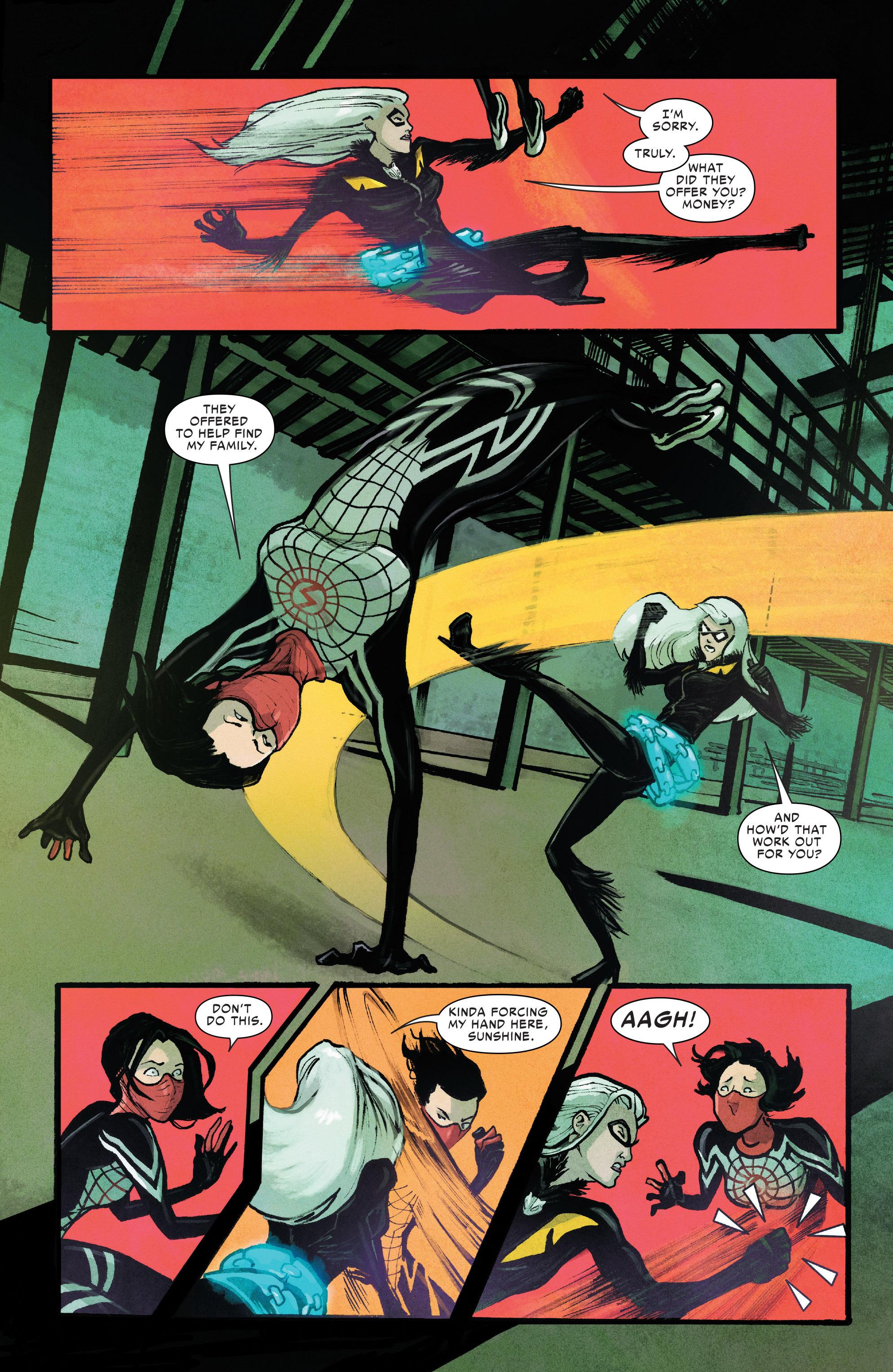 Read online Silk (2016) comic -  Issue #10 - 13