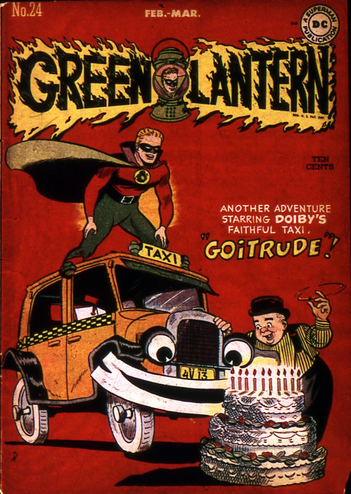 Green Lantern (1941) 24 Page 1