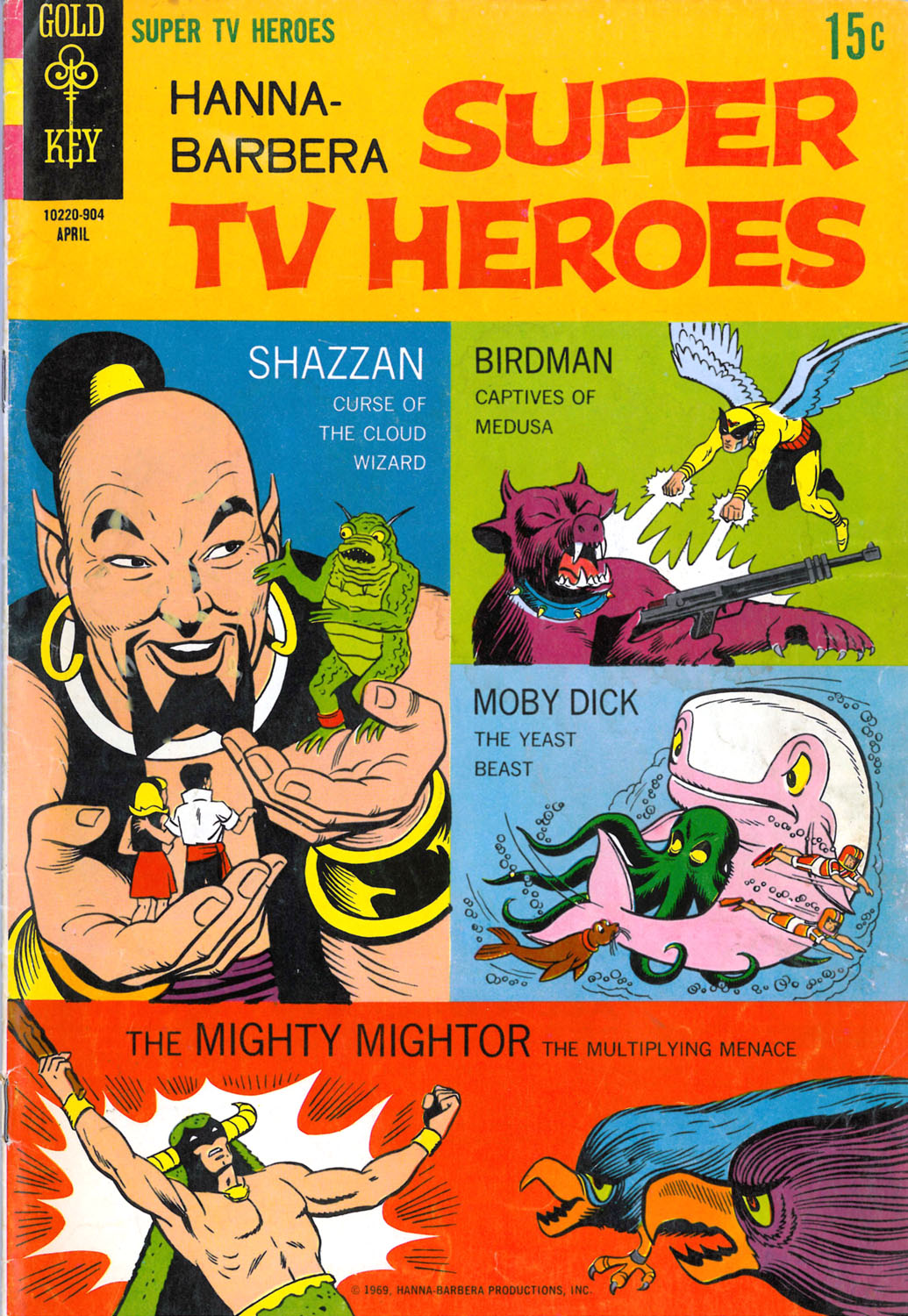 Hanna-Barbera Super TV Heroes issue 5 - Page 1