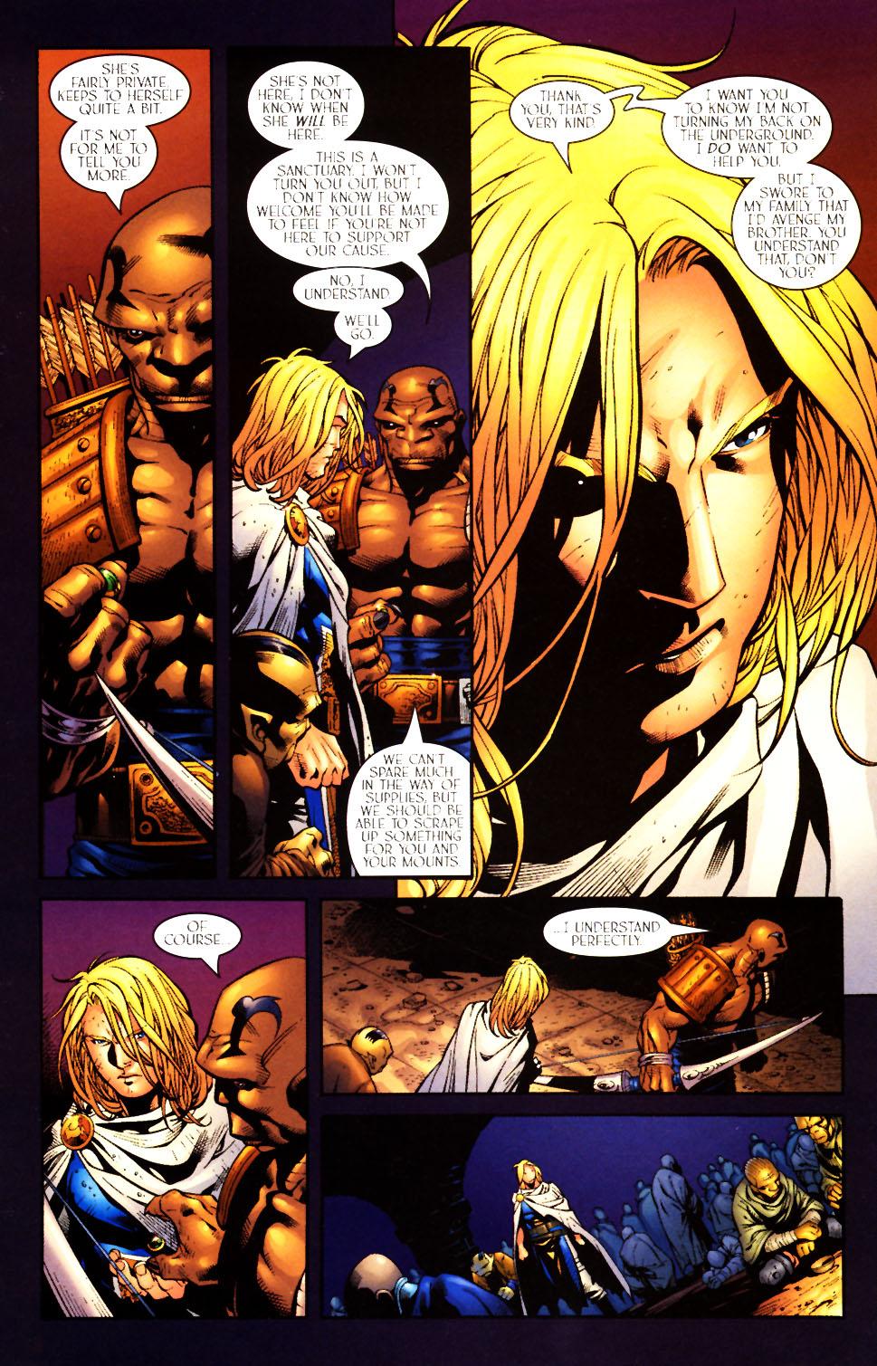 Read online Scion comic -  Issue #10 - 11