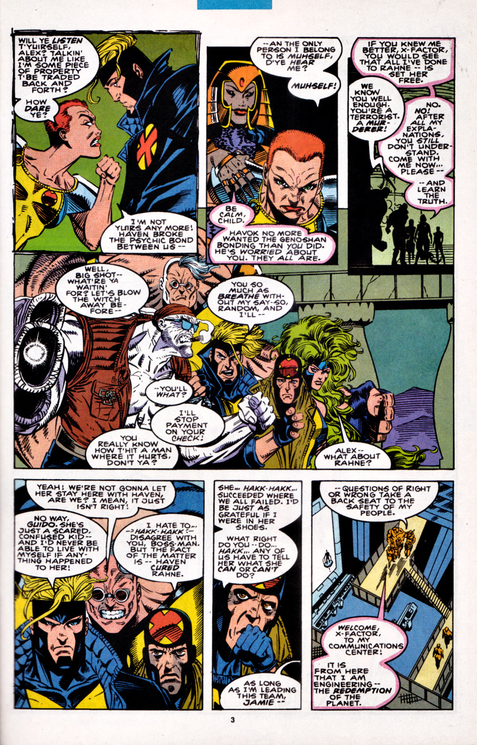 Read online X-Factor (1986) comic -  Issue #100 - 4