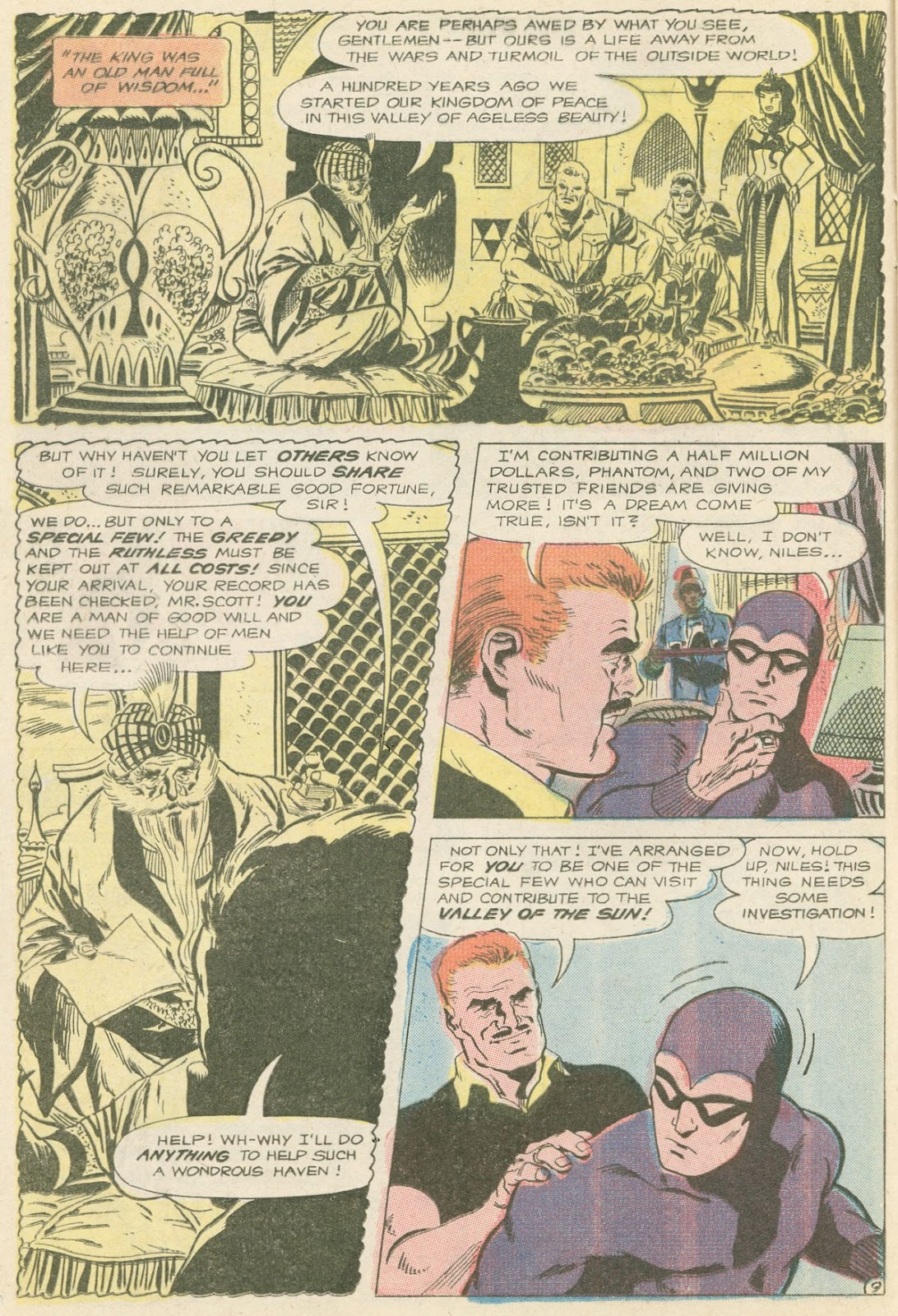 The Phantom (1969) issue 31 - Page 10