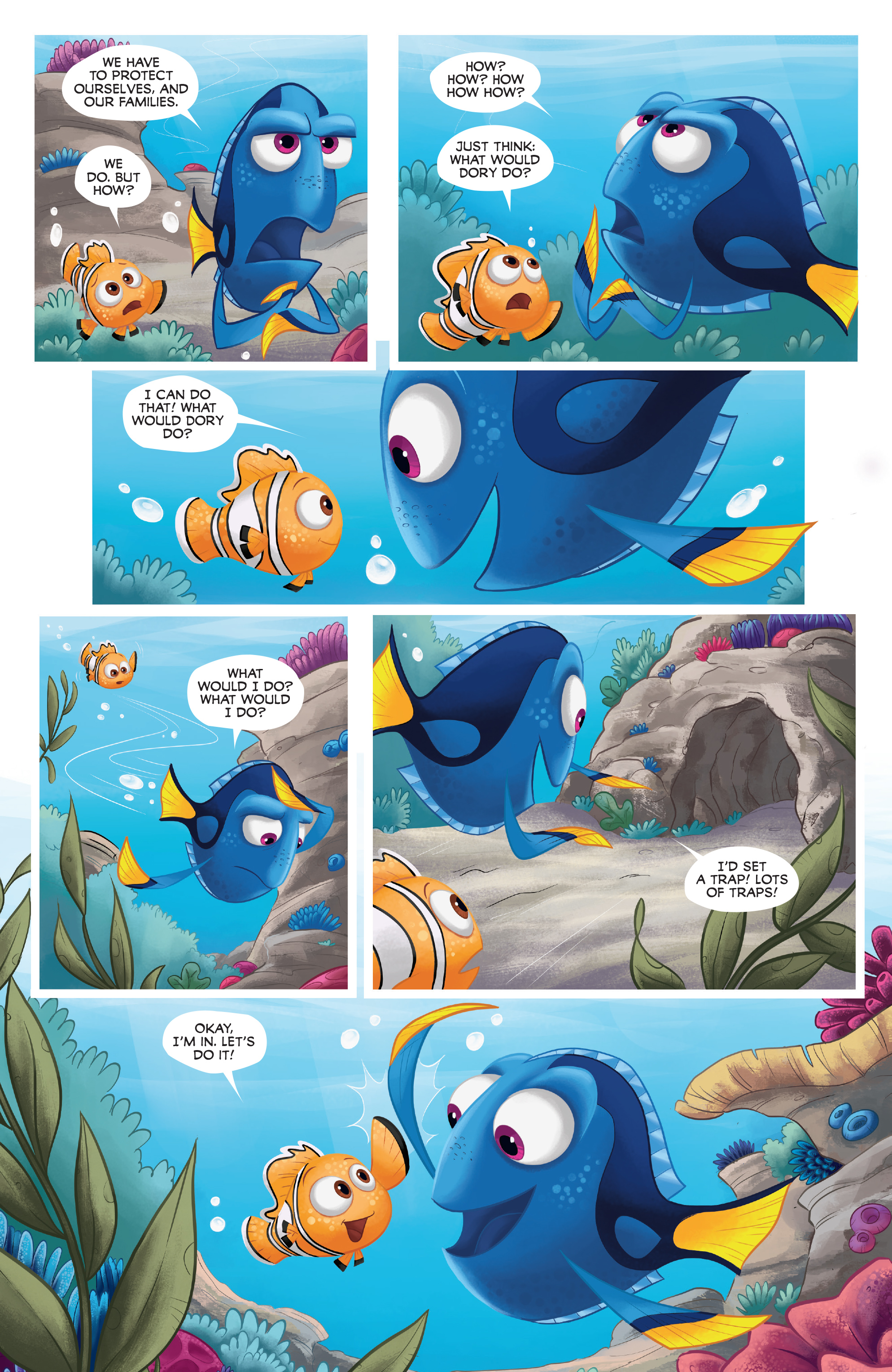 Read online Disney Pixar Finding Dory comic -  Issue #4 - 14