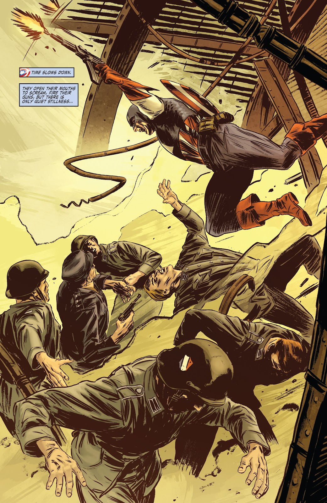 Read online Captain America Theater Of War: Operation Zero-Point comic -  Issue # Full - 20