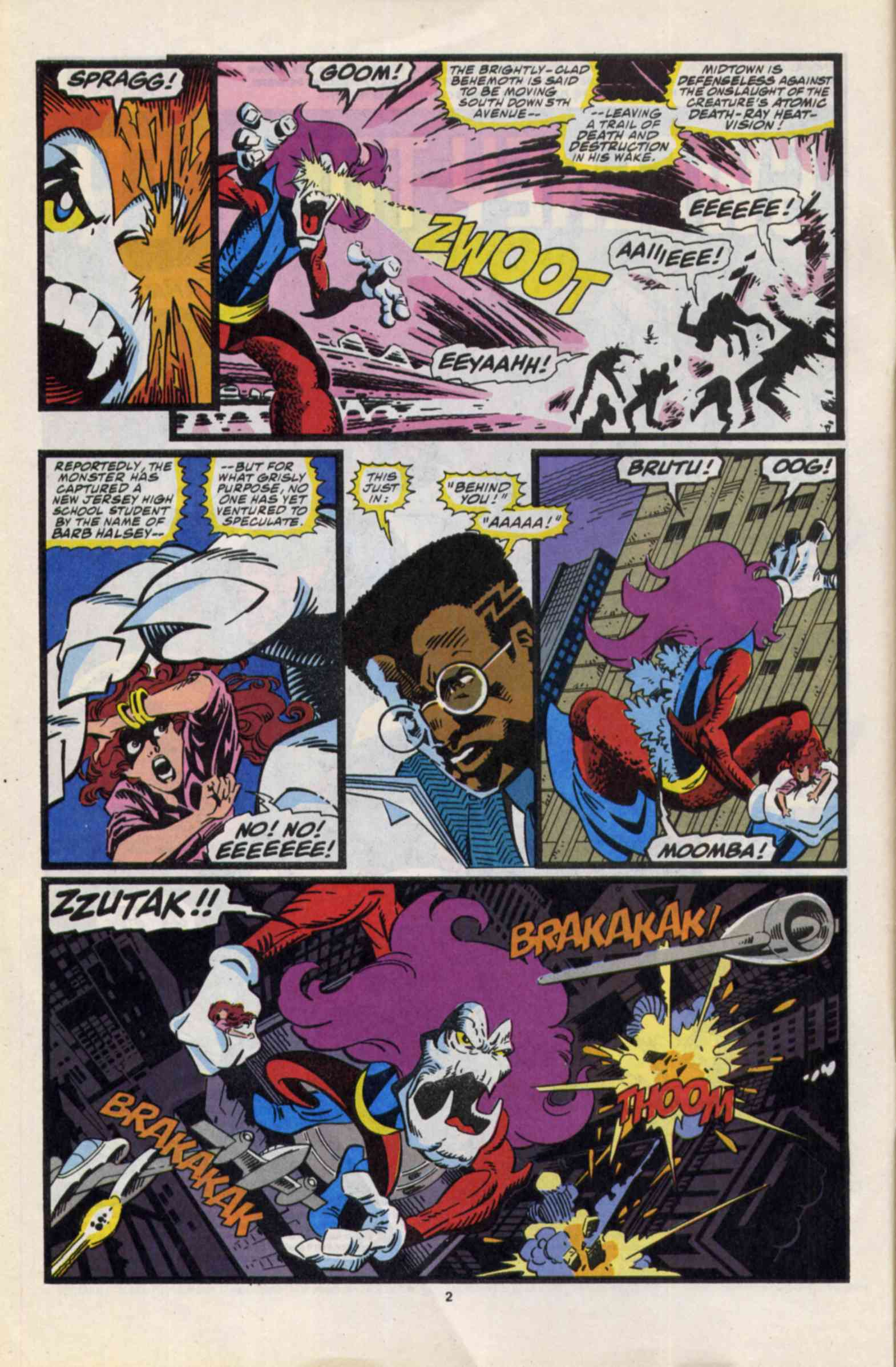 Read online Slapstick comic -  Issue #3 - 3