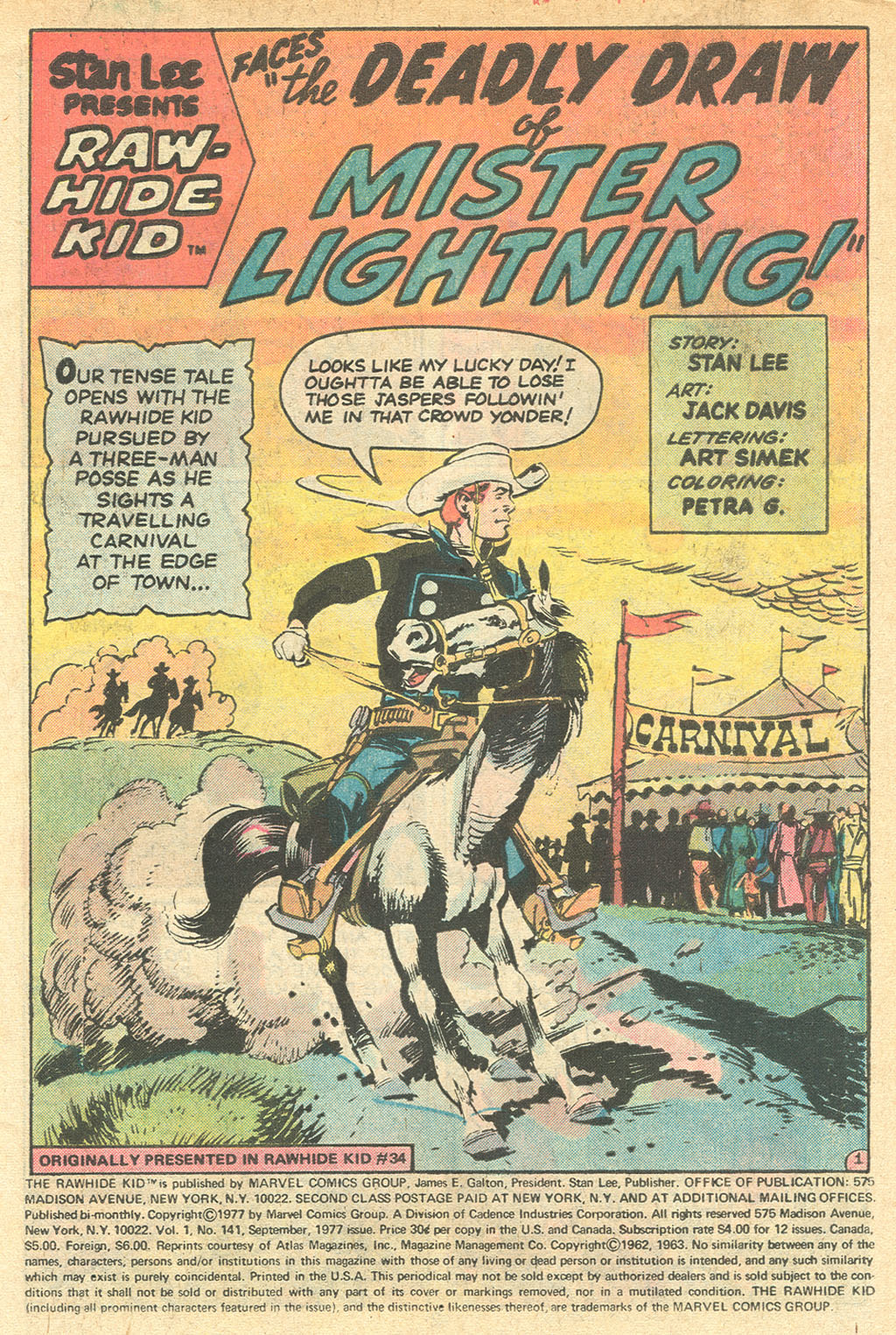 The Rawhide Kid (1955) issue 141 - Page 3