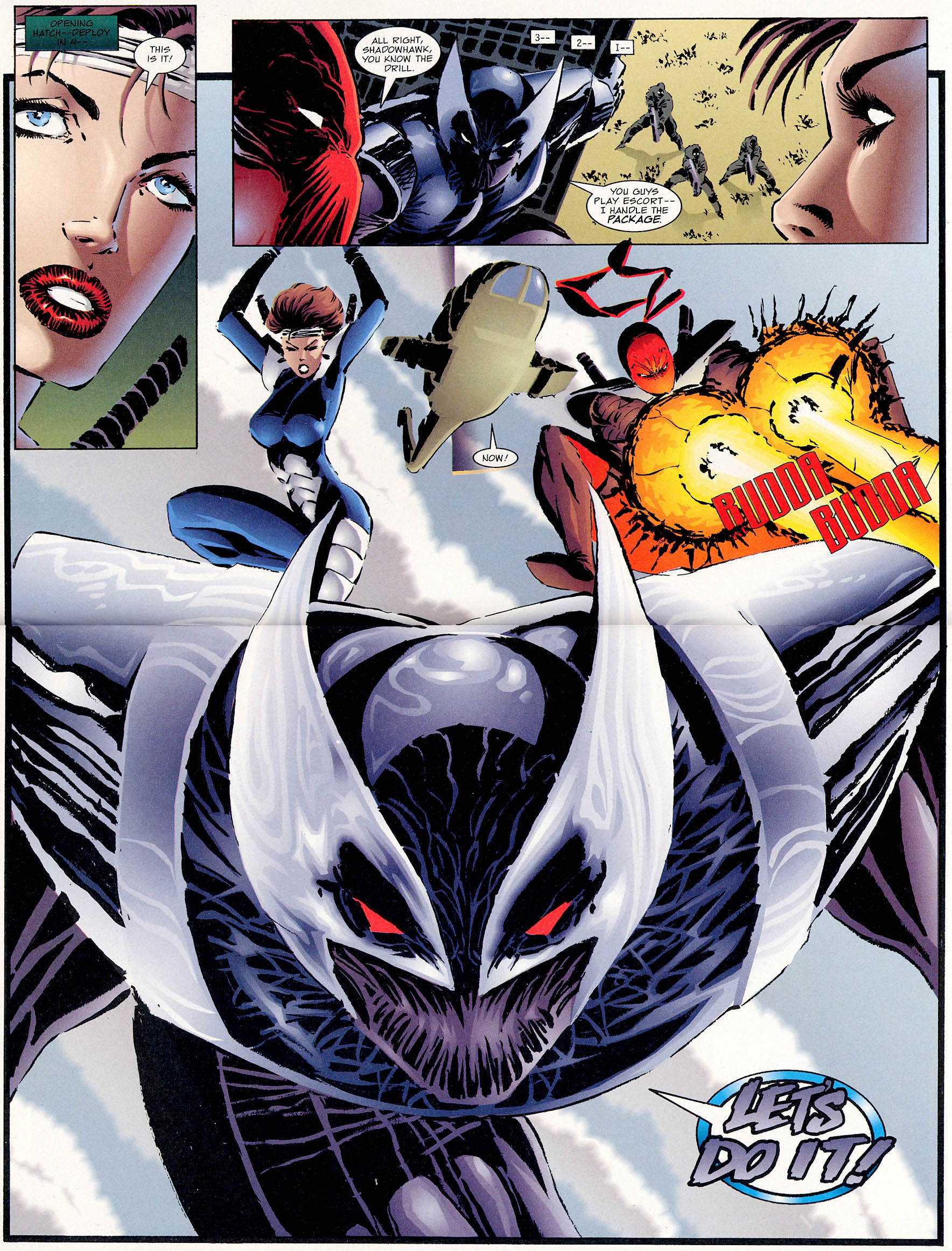Read online ShadowHawk comic -  Issue #0 - 4