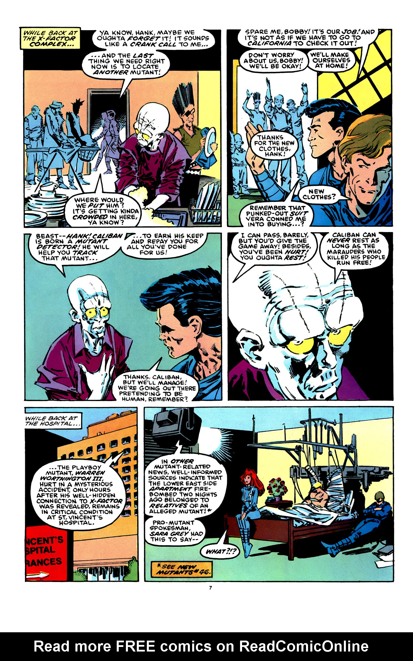 Read online X-Factor (1986) comic -  Issue #12 - 8