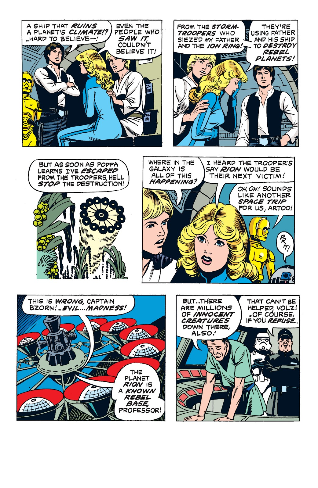 Read online Star Wars Legends: The Newspaper Strips - Epic Collection comic -  Issue # TPB (Part 2) - 81