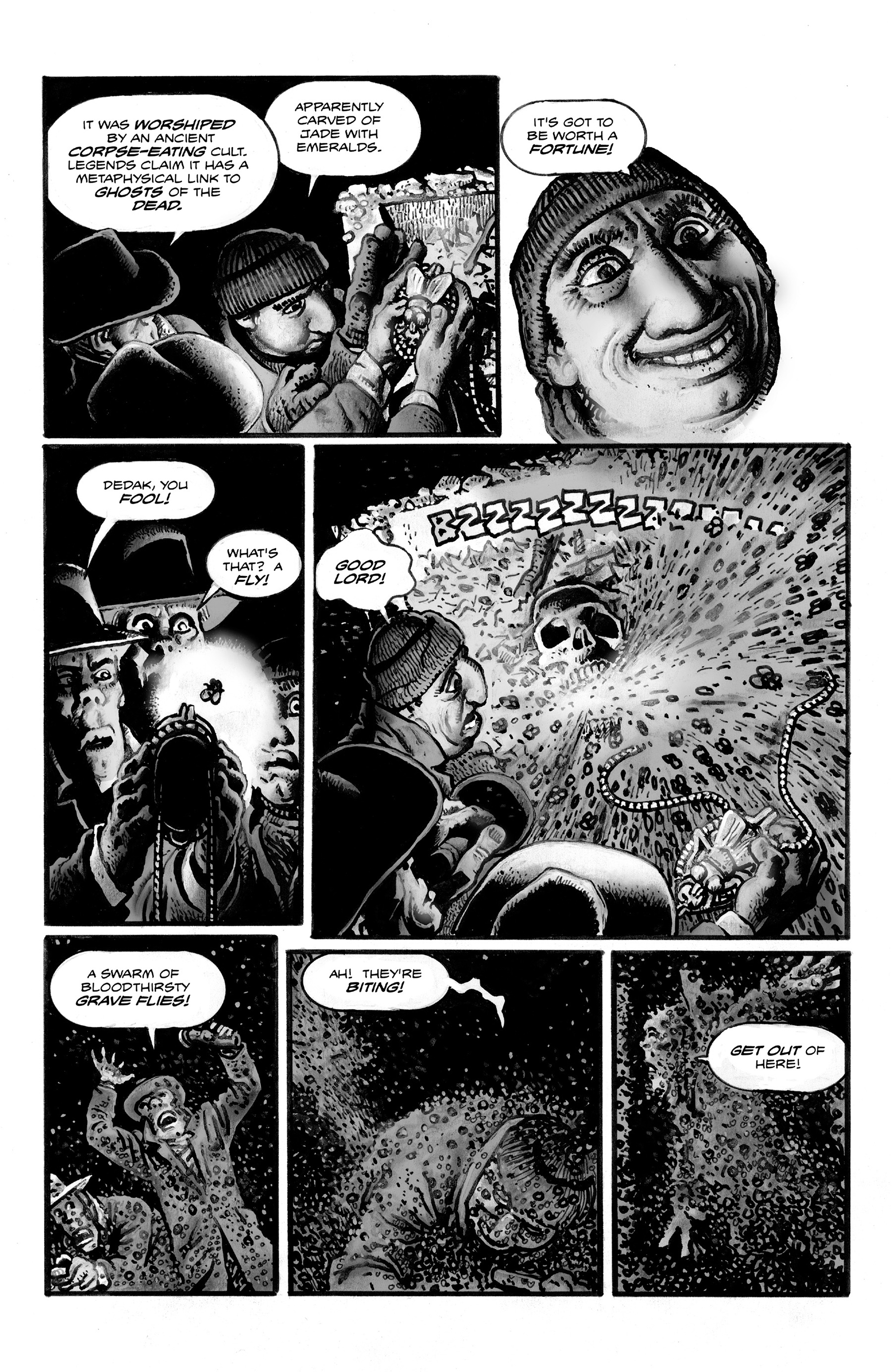 Read online Shadows on the Grave comic -  Issue #3 - 9