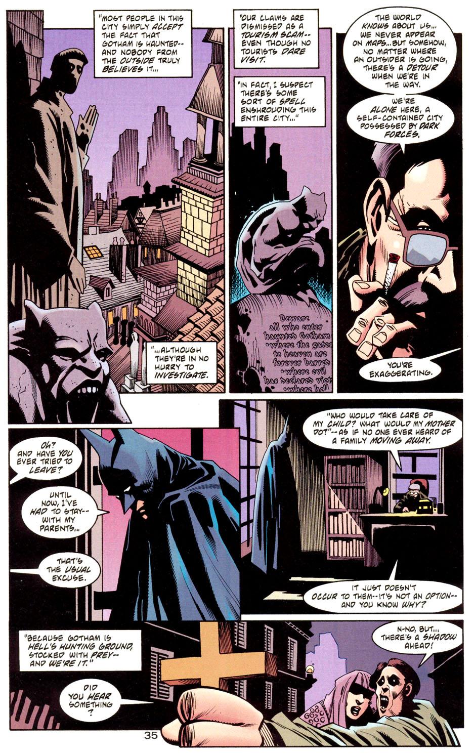 Read online Batman: Haunted Gotham comic -  Issue #1 - 37