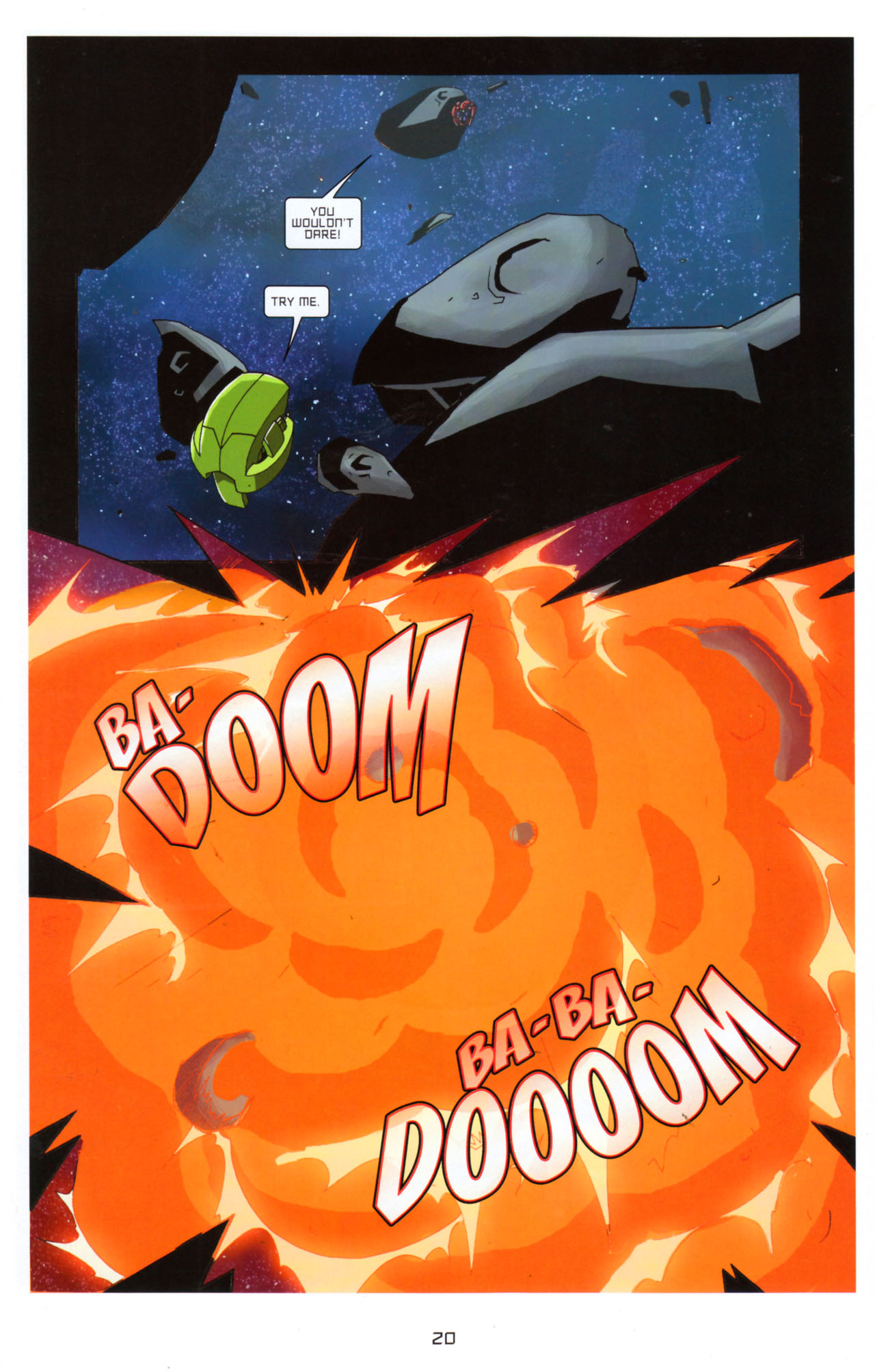 Read online Transformers Animated: The Arrival comic -  Issue #5 - 24