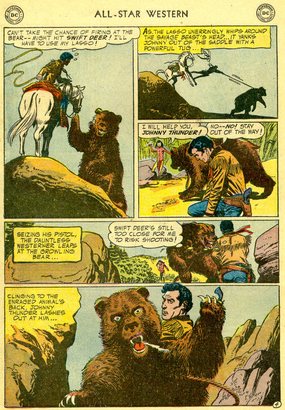 Read online All-Star Western (1951) comic -  Issue #82 - 32