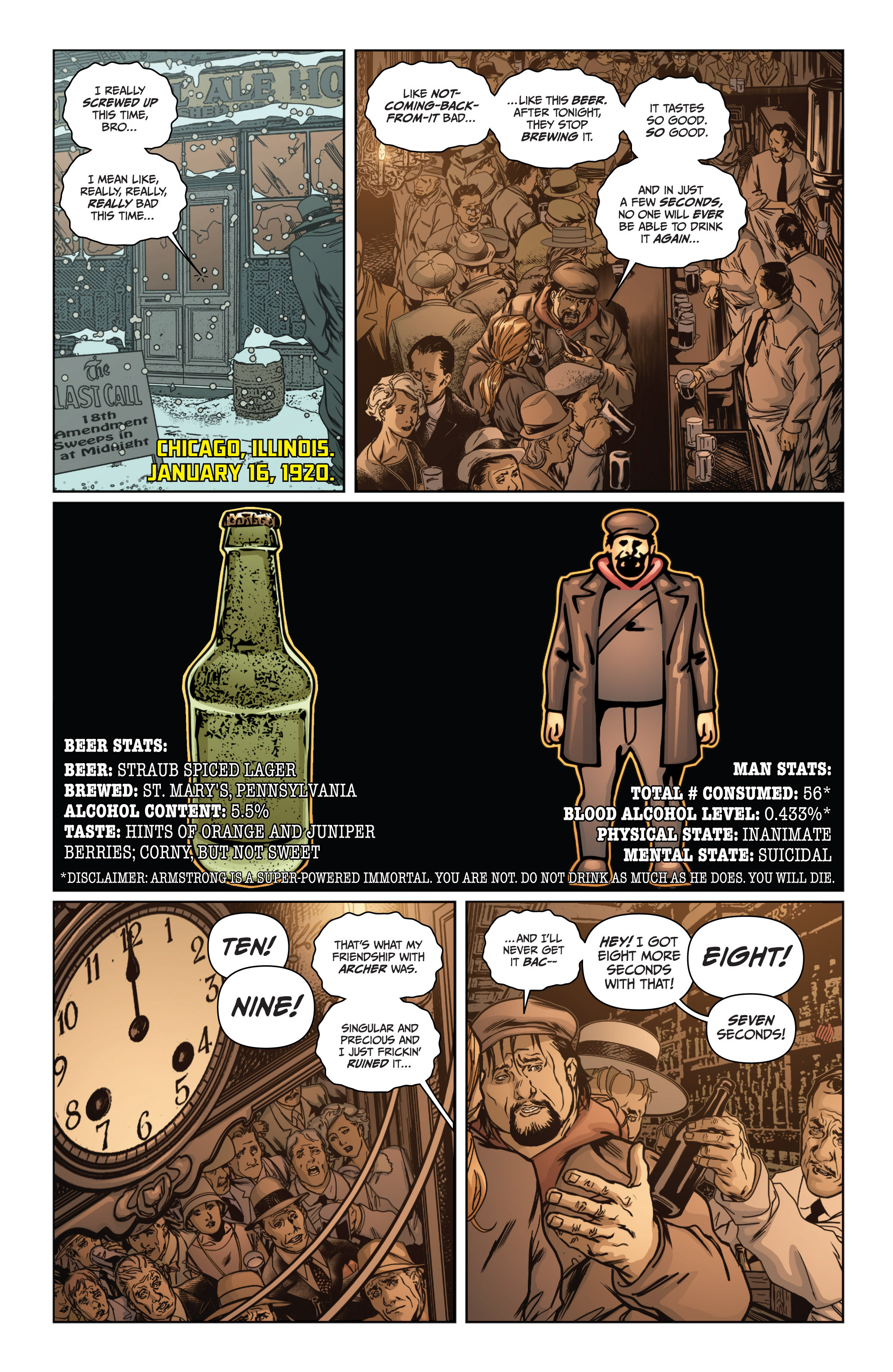 Read online Archer and Armstrong comic -  Issue #Archer and Armstrong _TPB 4 - 46