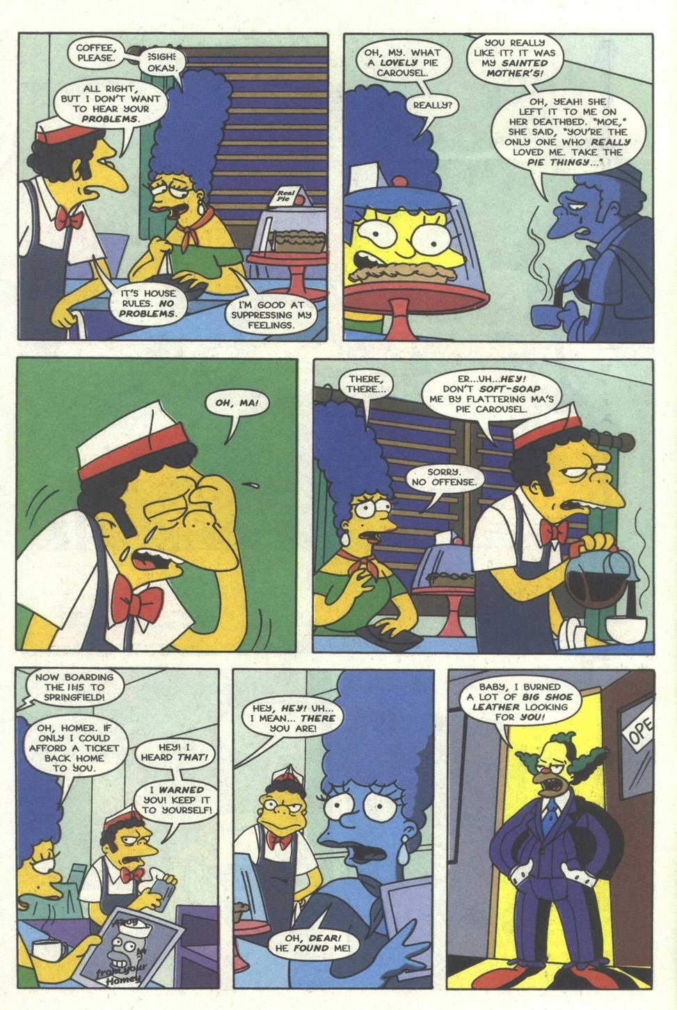 Read online Simpsons Comics comic -  Issue #17 - 25