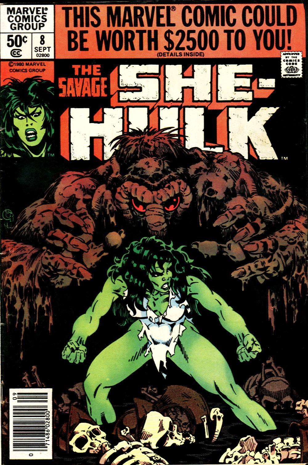 The Savage She-Hulk 8 Page 1