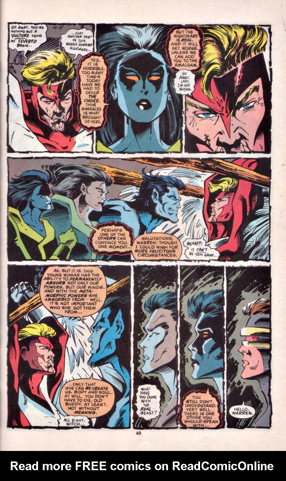 Read online Uncanny X-Men (1963) comic -  Issue # _Annual 16 - 41