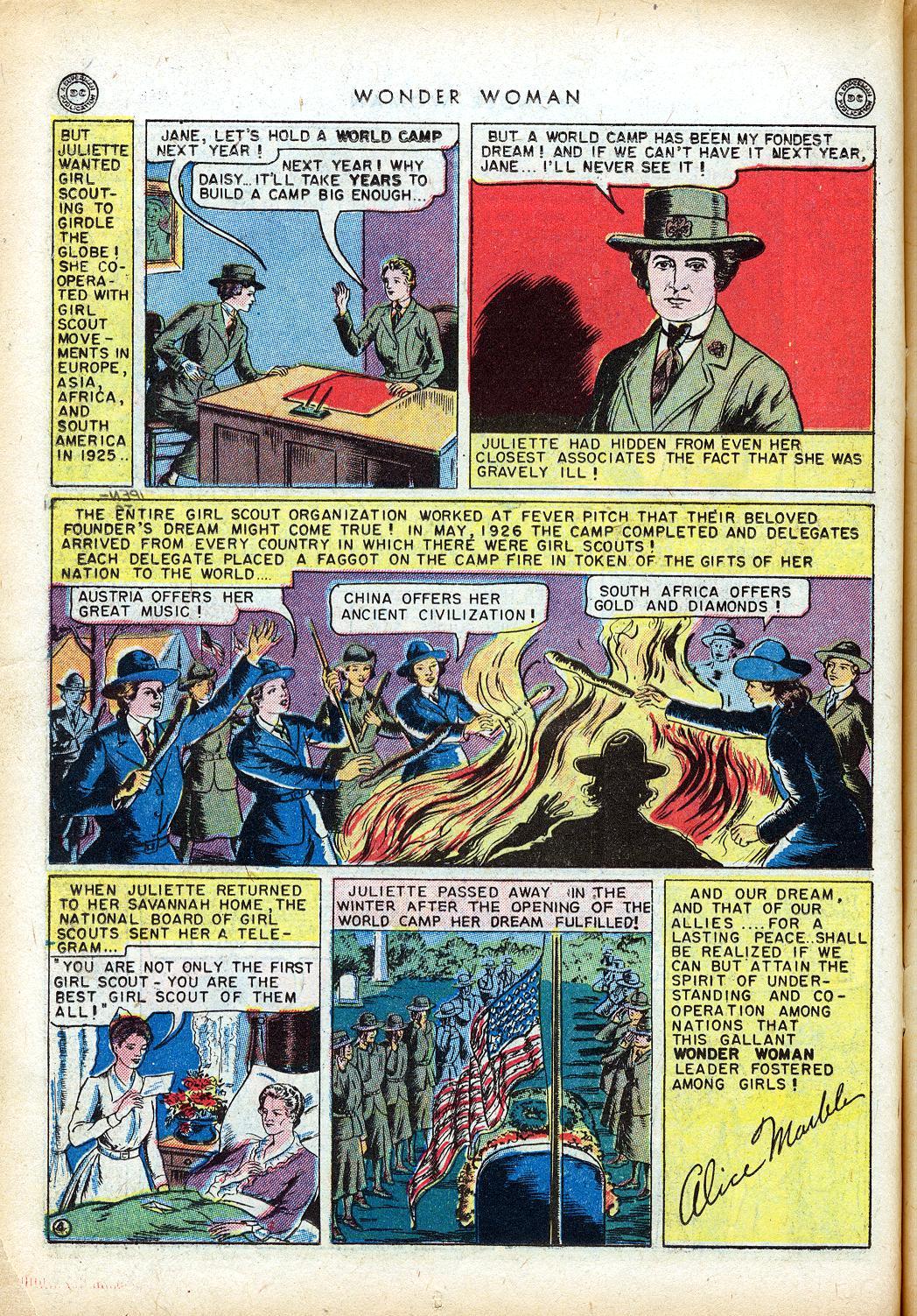 Read online Wonder Woman (1942) comic -  Issue #10 - 21