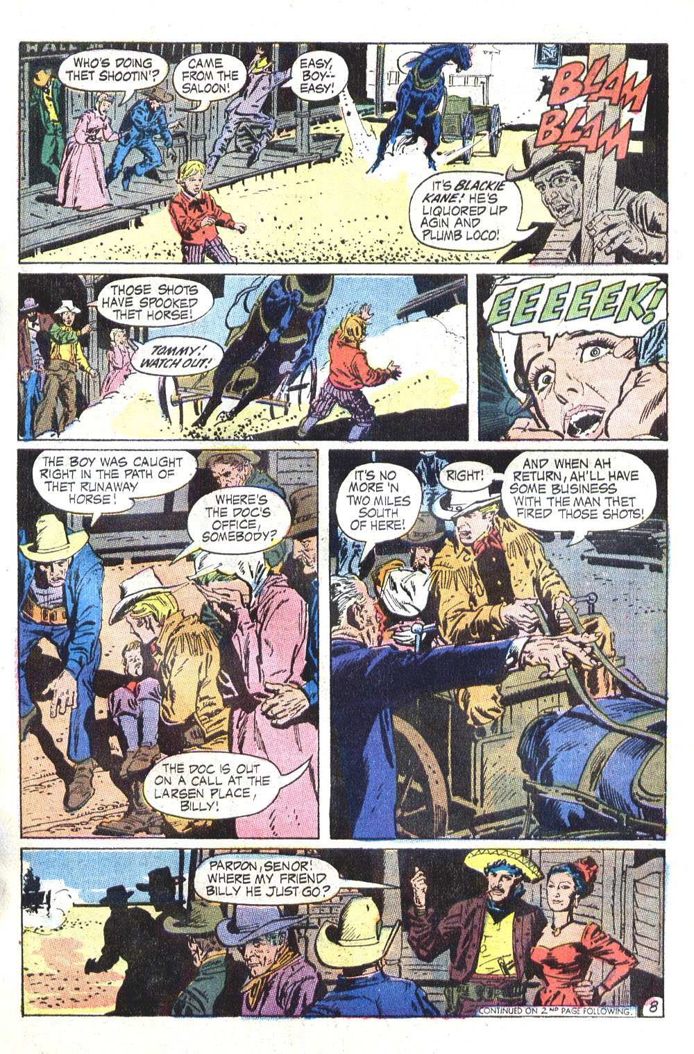 Read online All-Star Western (1970) comic -  Issue #6 - 11