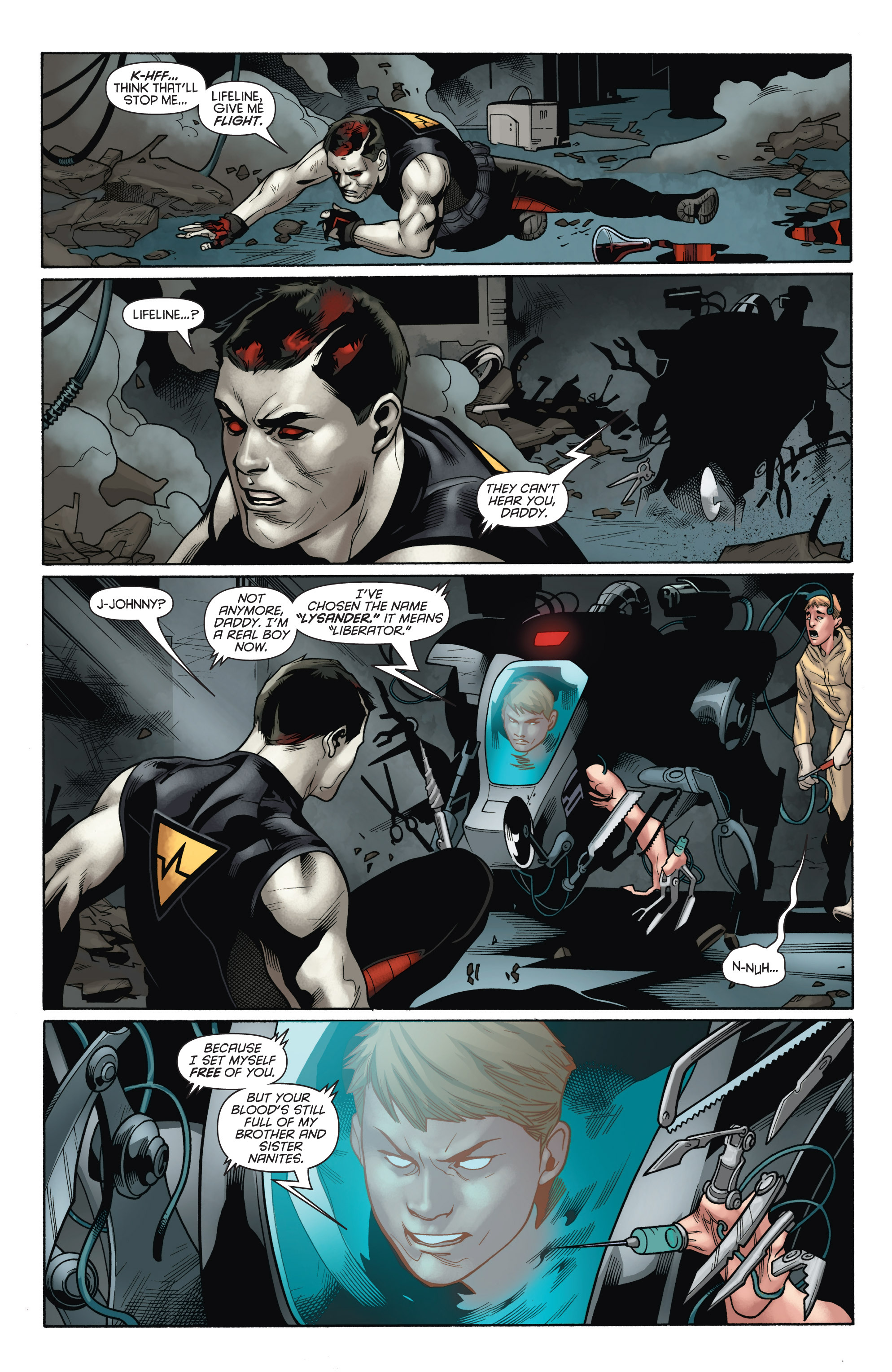 Read online Bloodshot and H.A.R.D.Corps comic -  Issue # TPB 4 - 74