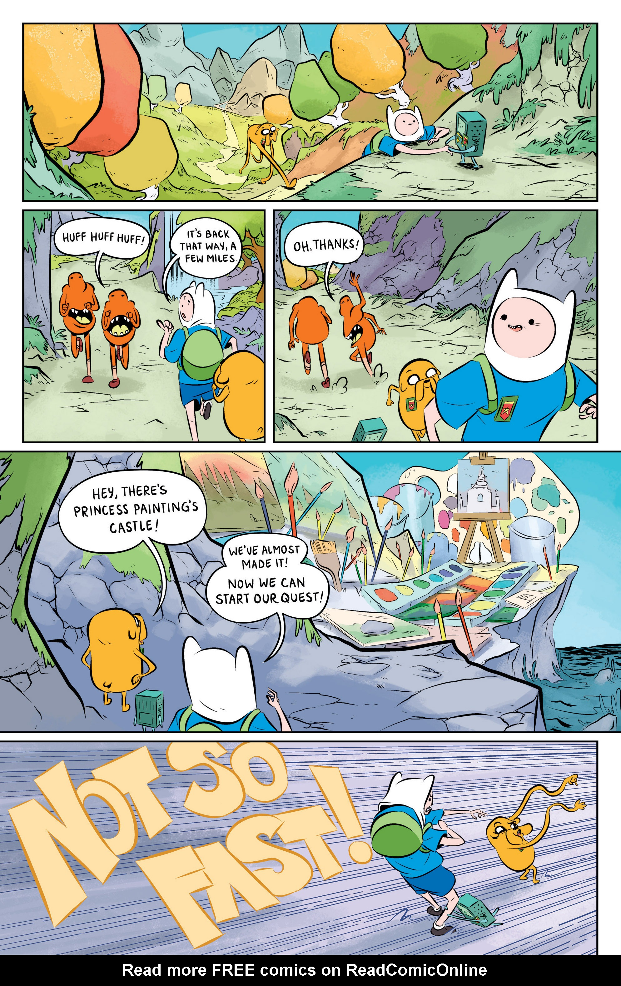 Read online Adventure Time: The Flip Side comic -  Issue #1 - 21
