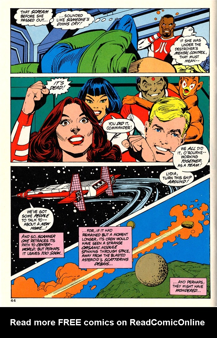 Read online Atari Force (1982) comic -  Issue #5 - 42
