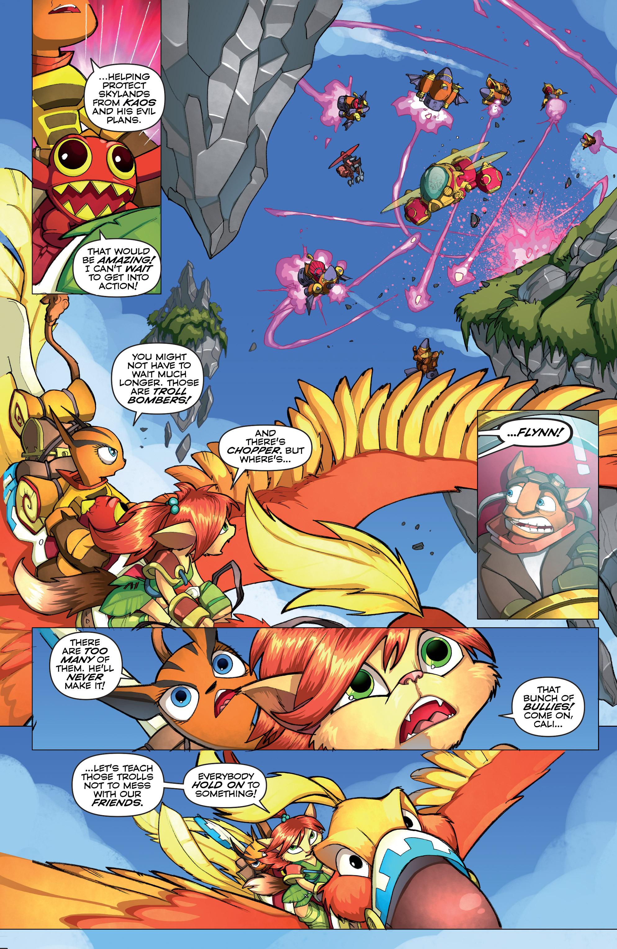 Read online Skylanders comic -  Issue #2 - 13