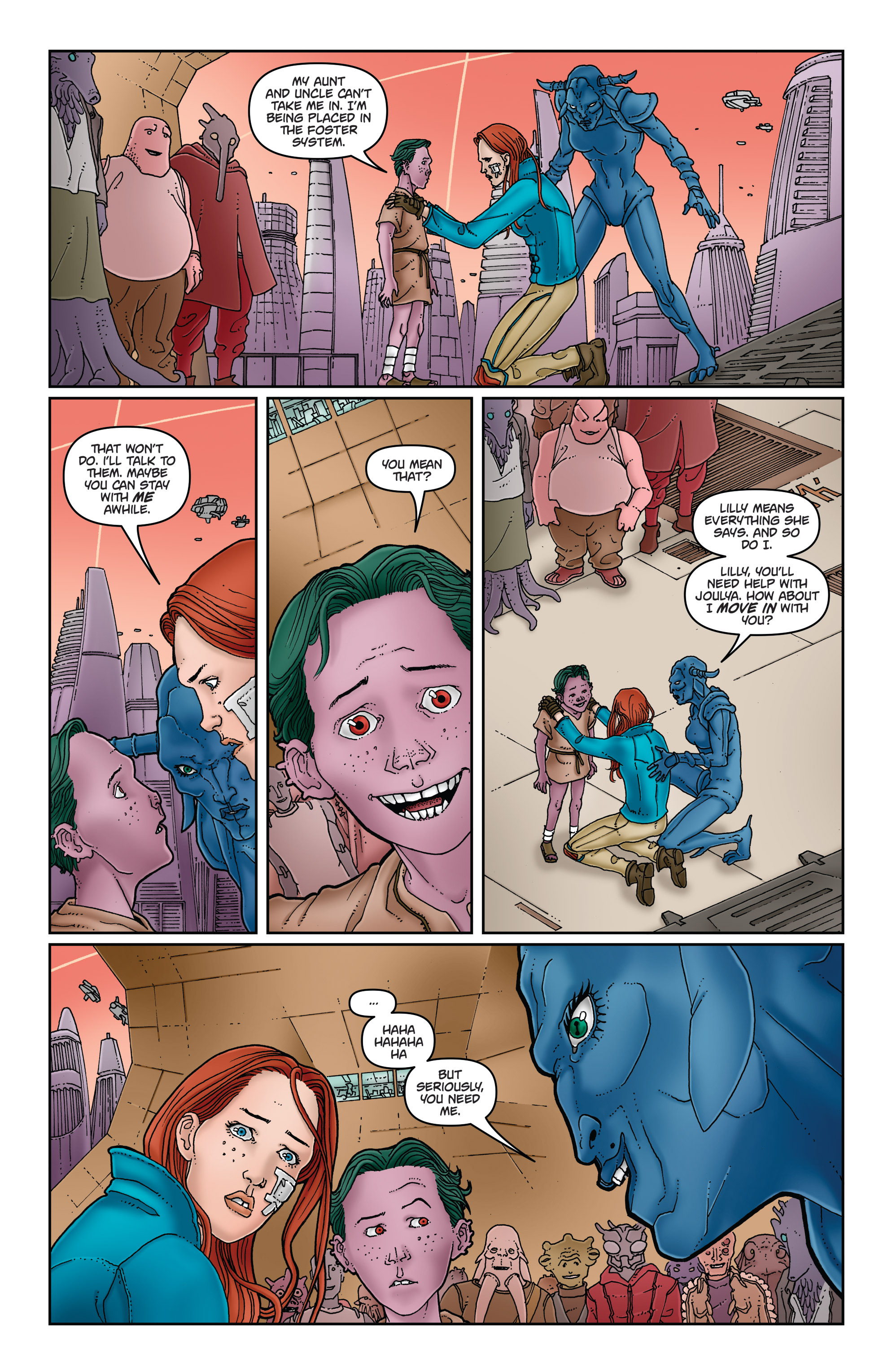 Read online Satellite Falling comic -  Issue #5 - 16