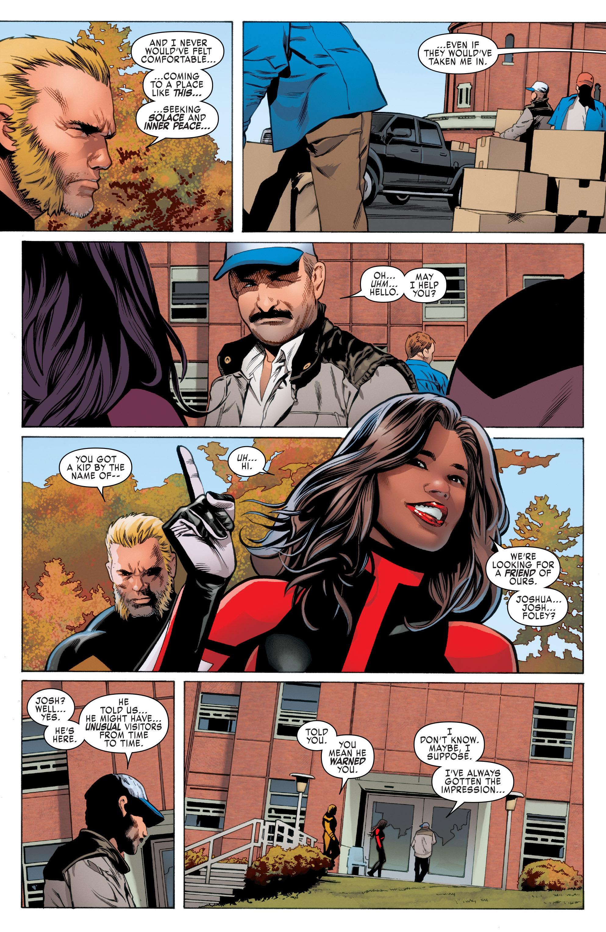 Read online Uncanny X-Men (2016) comic -  Issue #2 - 13