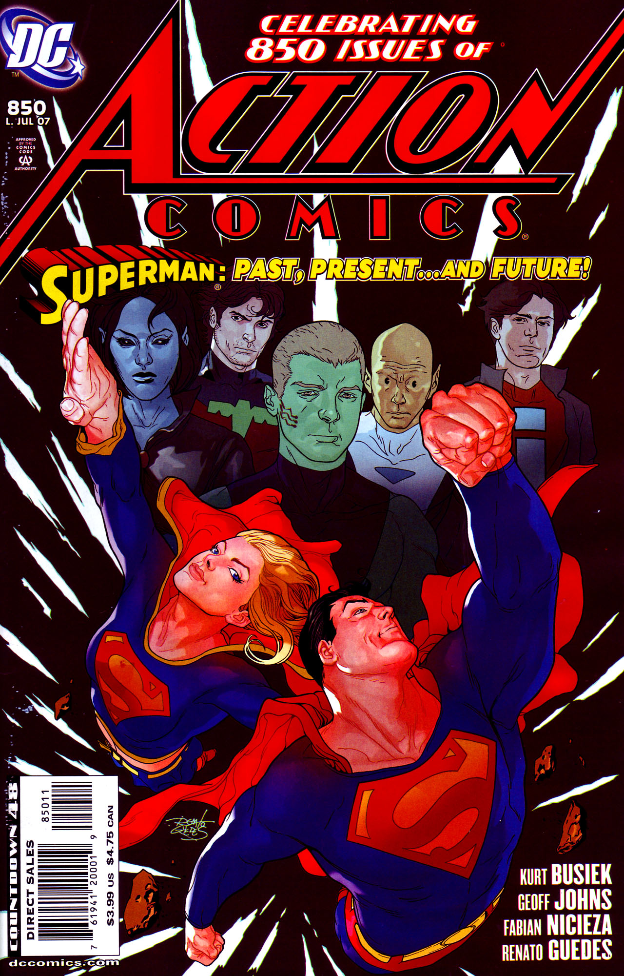 Read online Action Comics (1938) comic -  Issue #850 - 1