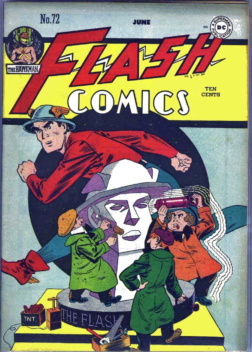 Flash Comics 72 Page 1