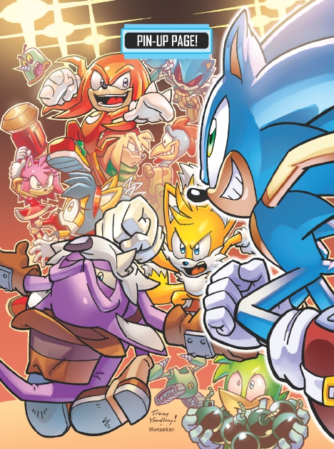 Read online Sonic Comics Spectacular: Speed of Sound comic -  Issue # Full - 58