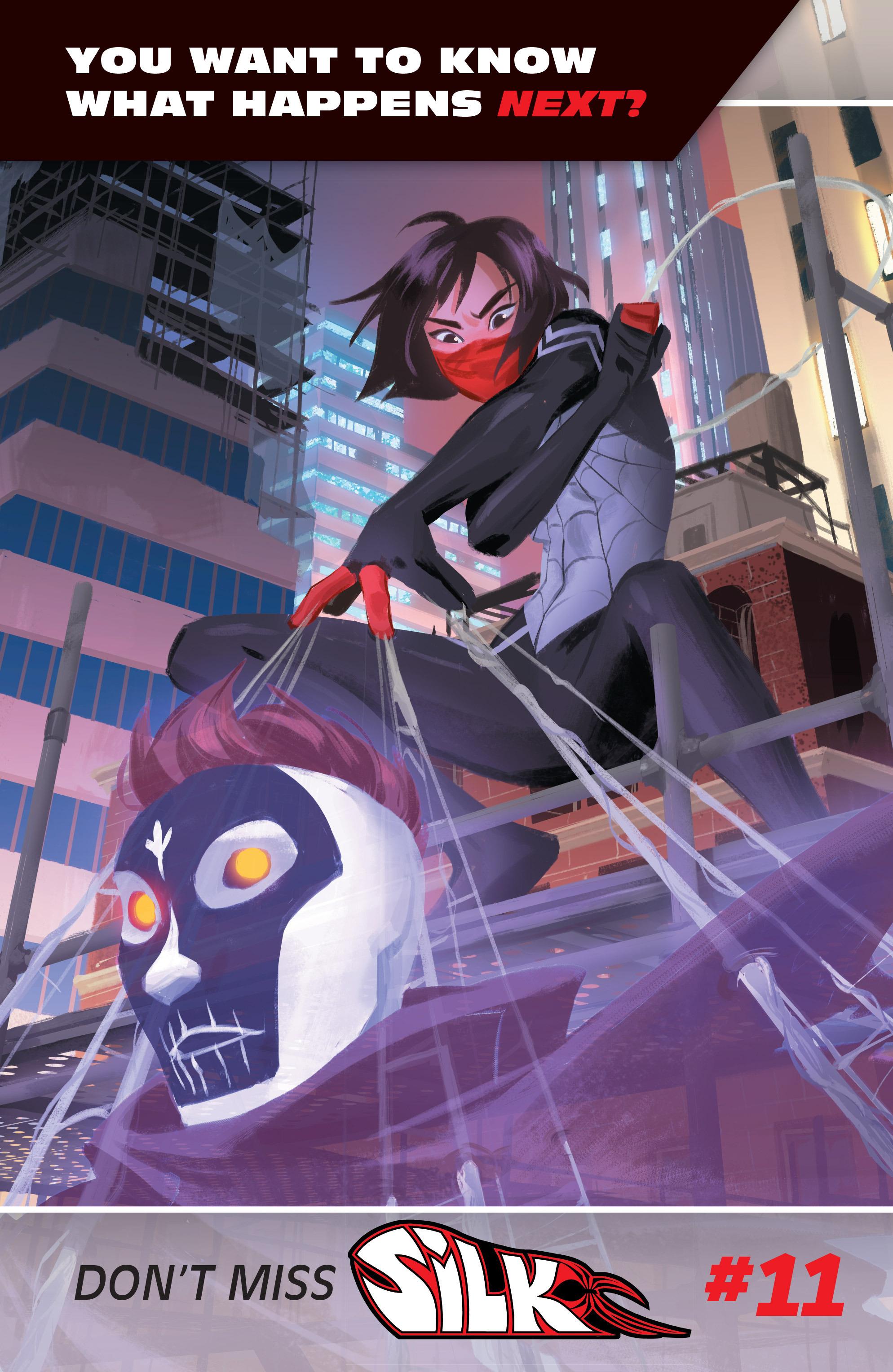 Read online Silk (2016) comic -  Issue #10 - 23