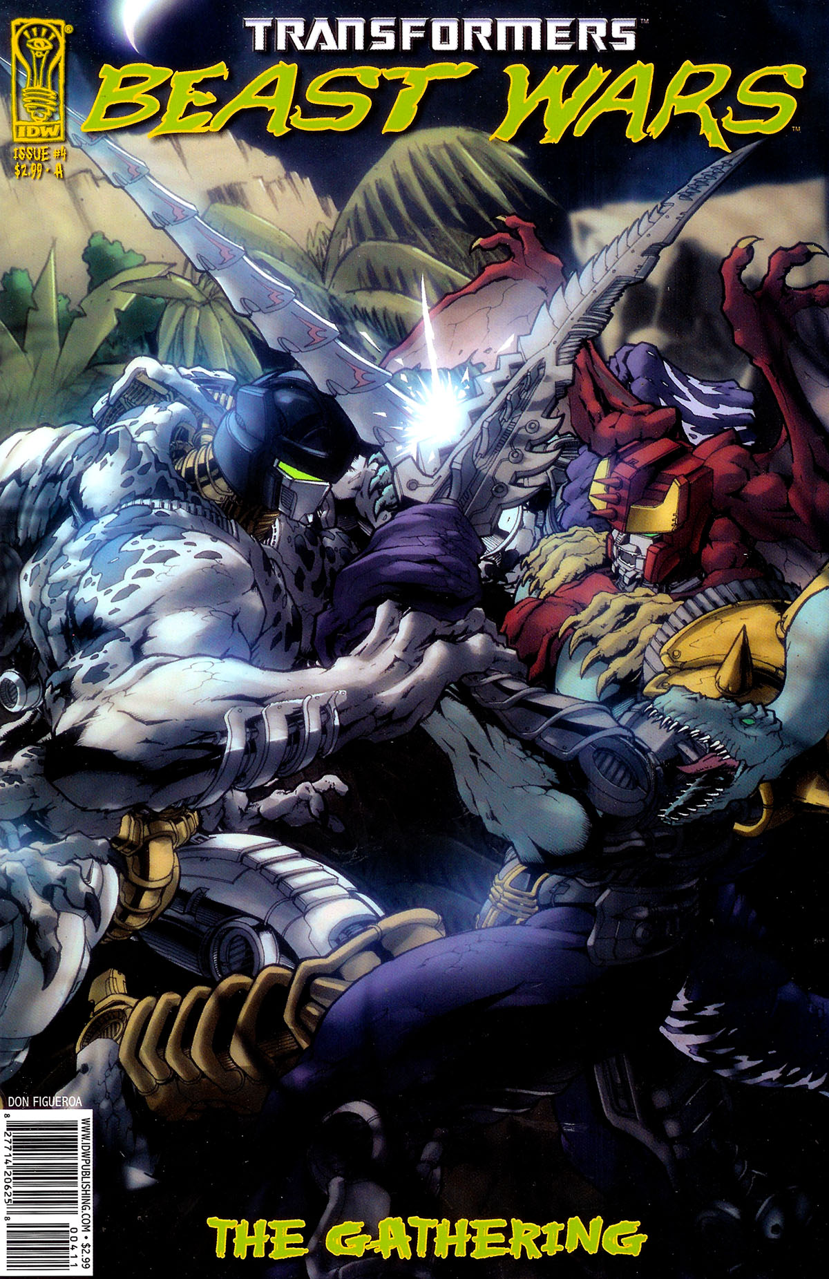 Read online Transformers, Beast Wars: The Gathering comic -  Issue #4 - 1