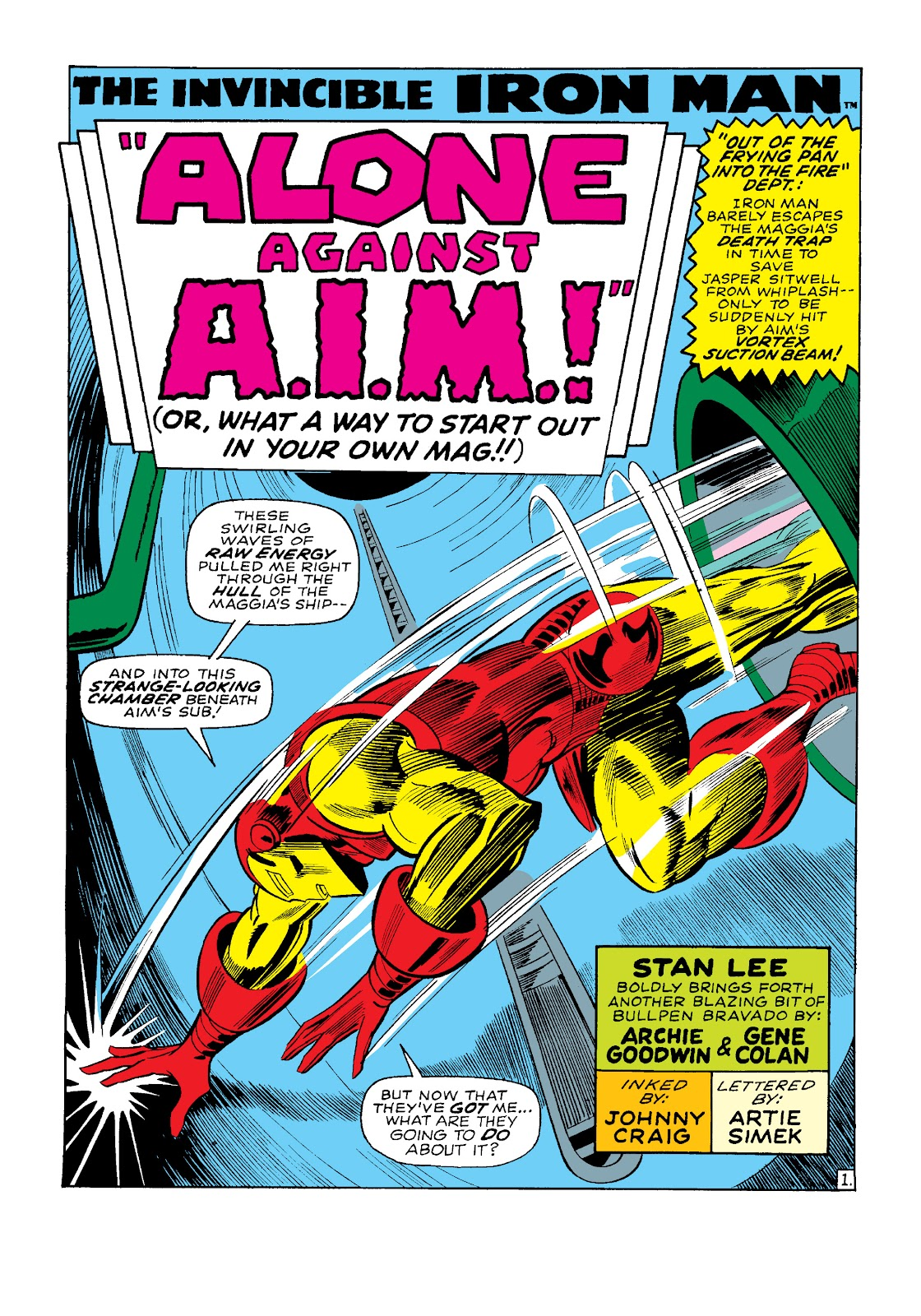 Read online Marvel Masterworks: The Invincible Iron Man comic -  Issue # TPB 4 (Part 3) - 25