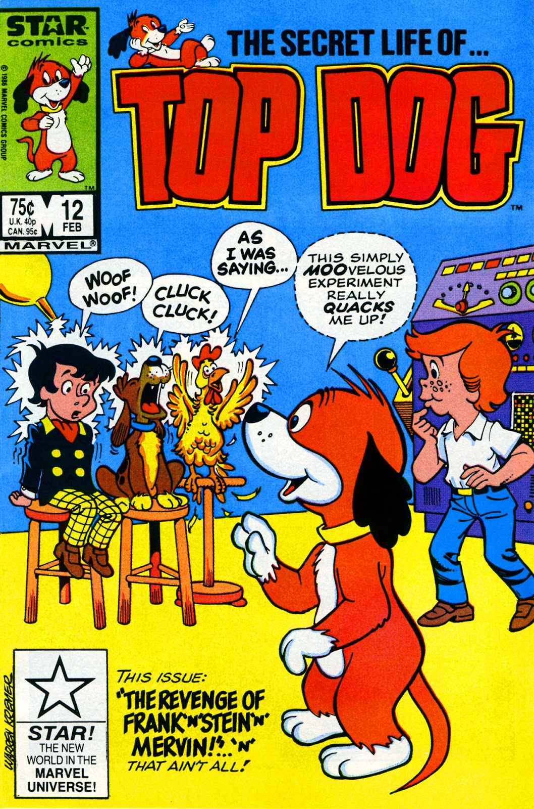 Top Dog 12 Page 1