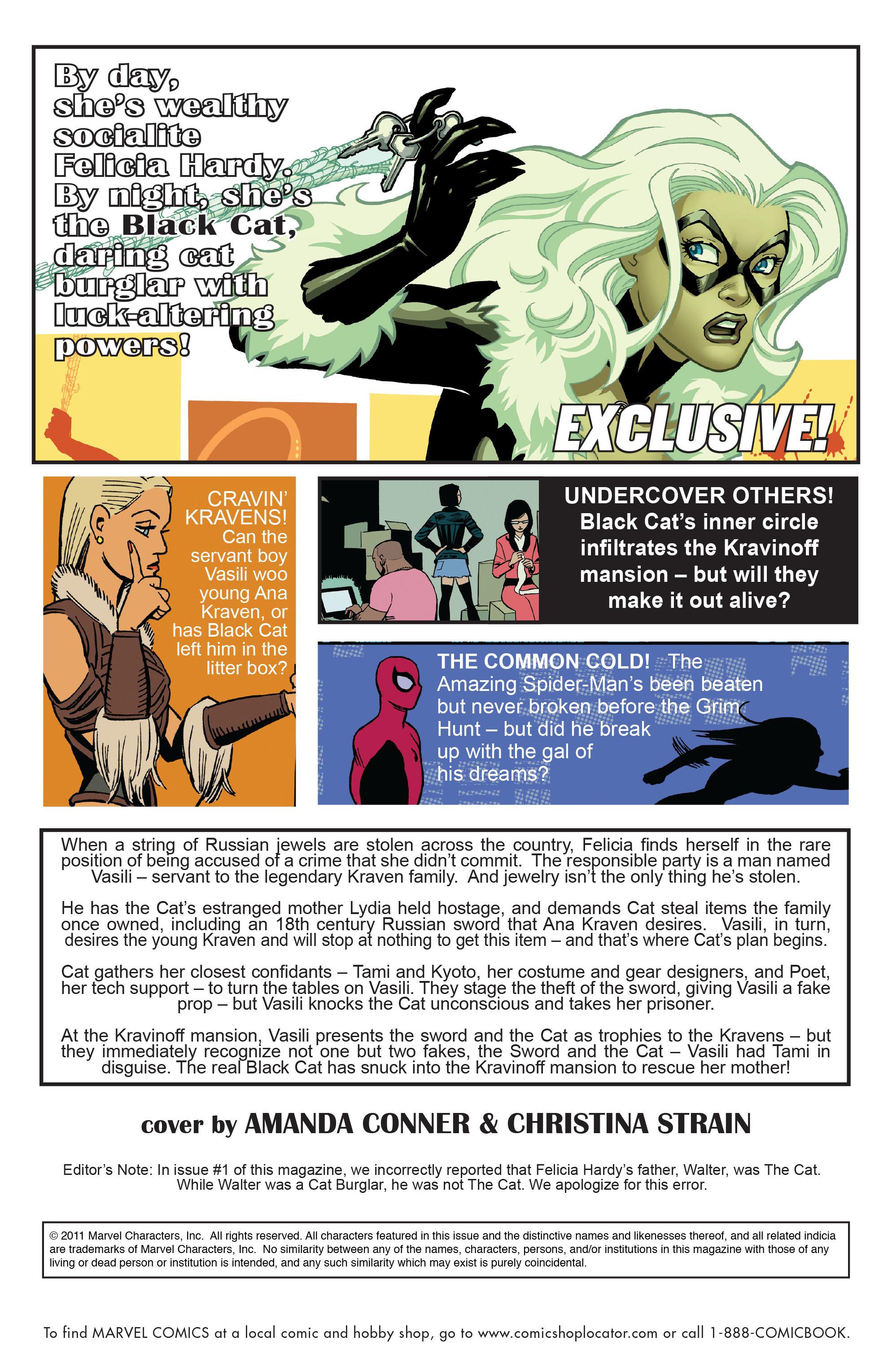 Read online Amazing Spider-Man Presents: Black Cat comic -  Issue #4 - 2