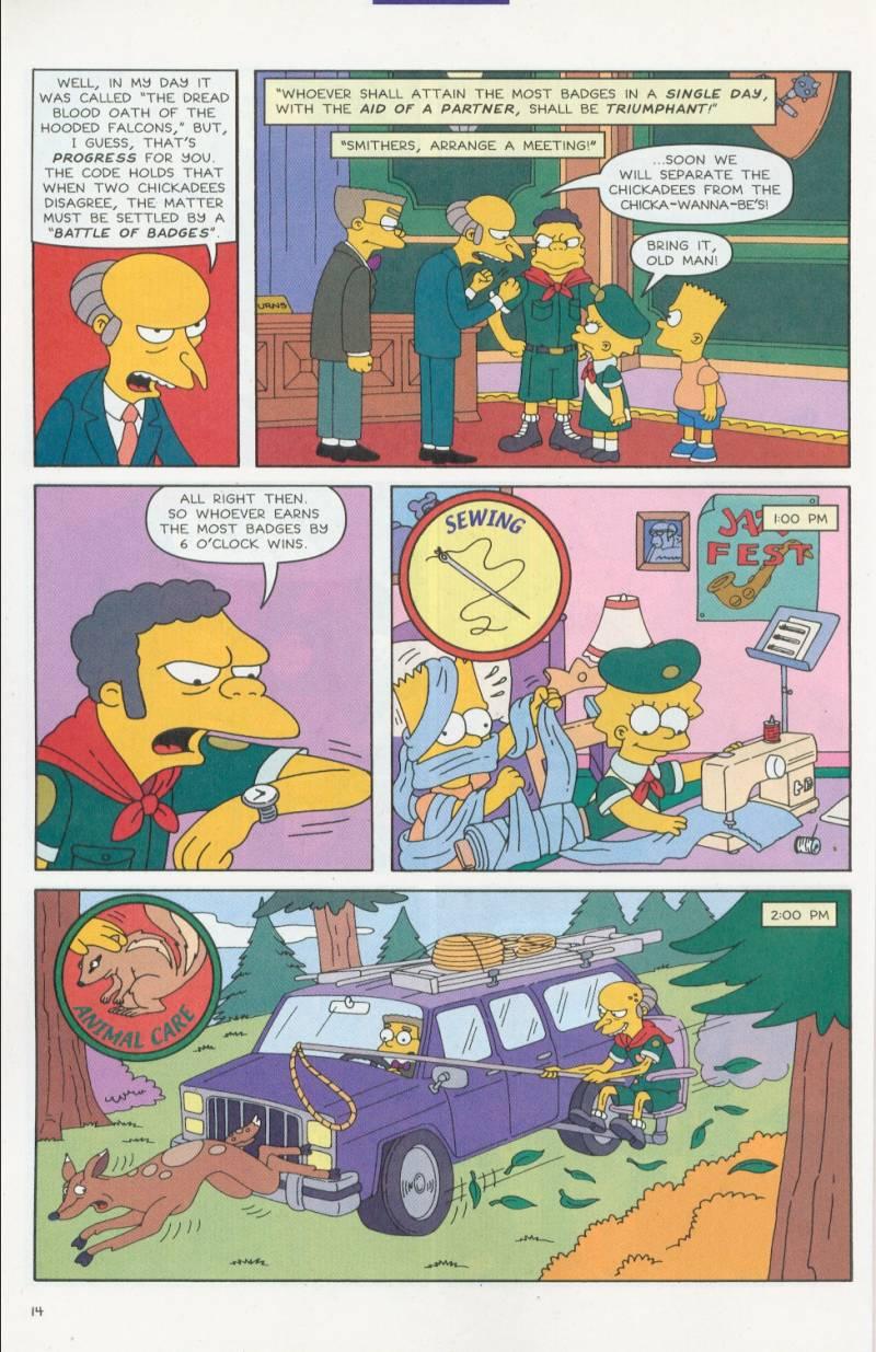 Read online Simpsons Comics comic -  Issue #63 - 15