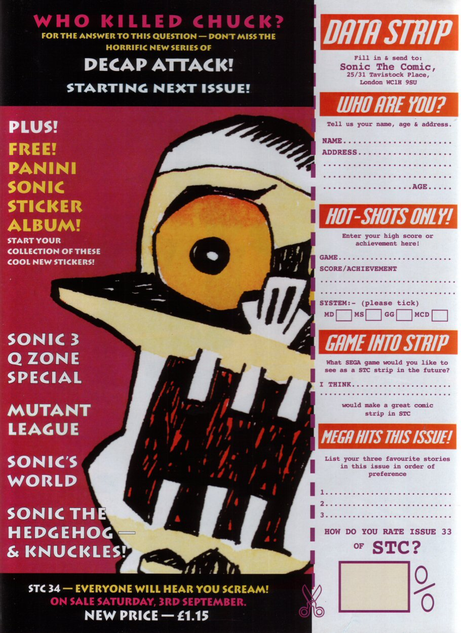 Read online Sonic the Comic comic -  Issue #33 - 30