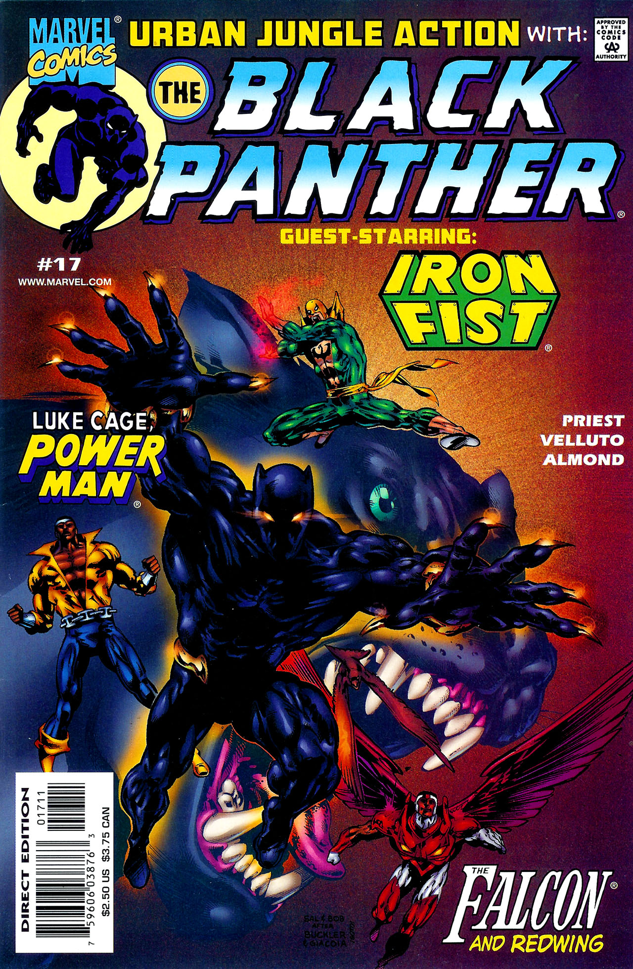 Black Panther (1998) 17 Page 1