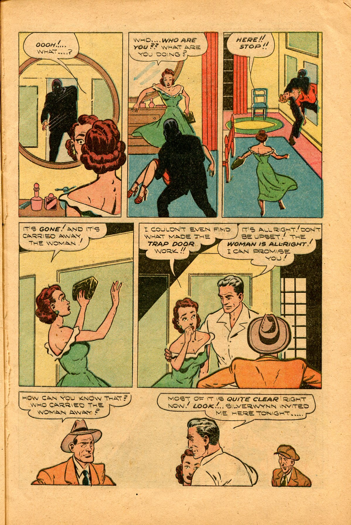 Read online Shadow Comics comic -  Issue #94 - 9